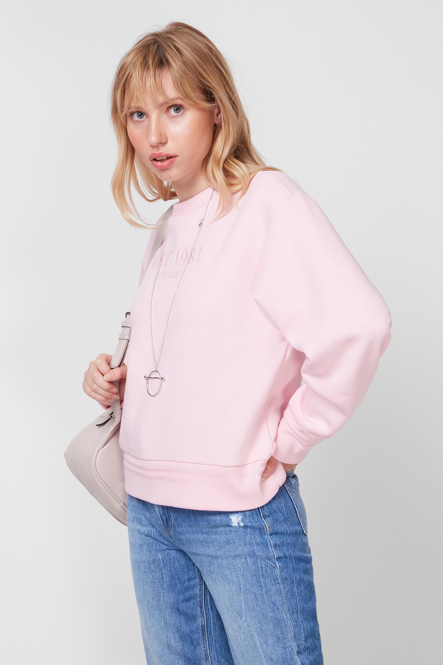 Жіночий рожевий світшот Guess W1YQ33.K9Z21;G6S4