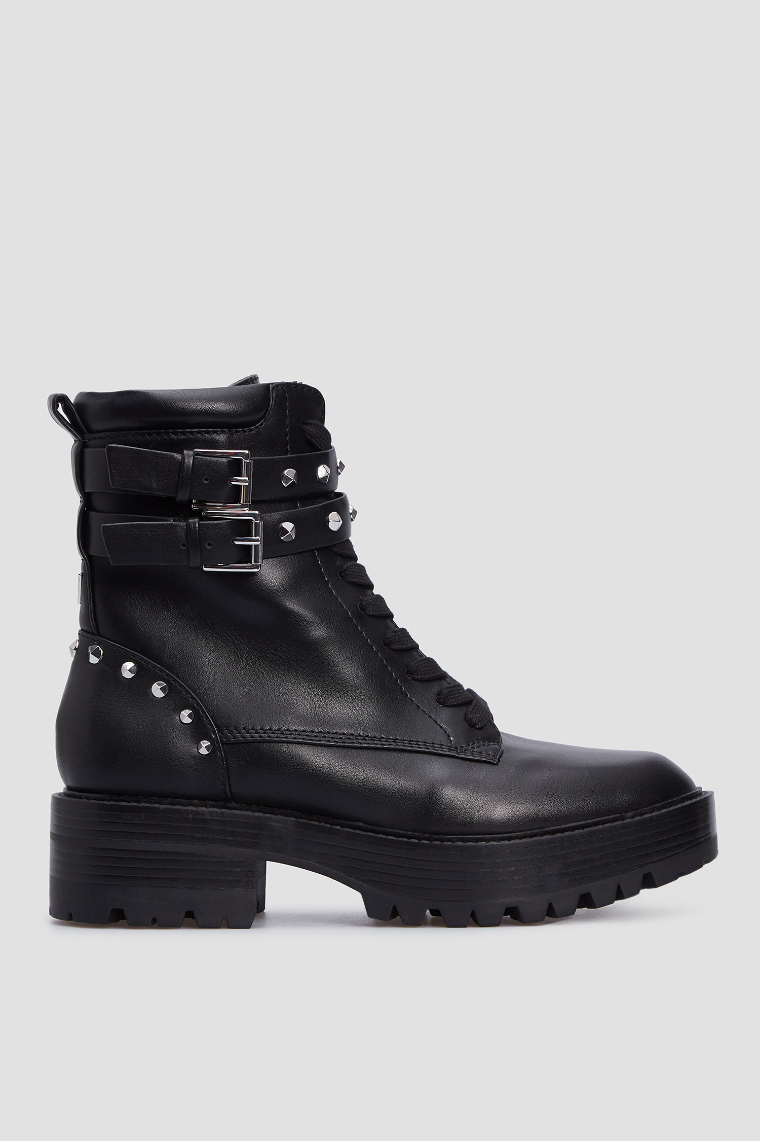 Женские черные ботинки Guess FL8FLO.ELE10;BLACK