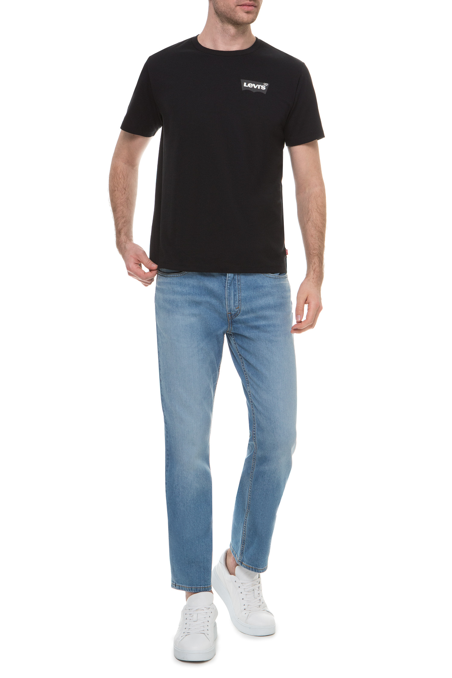 Мужская черная футболка Levi's 22489;0260