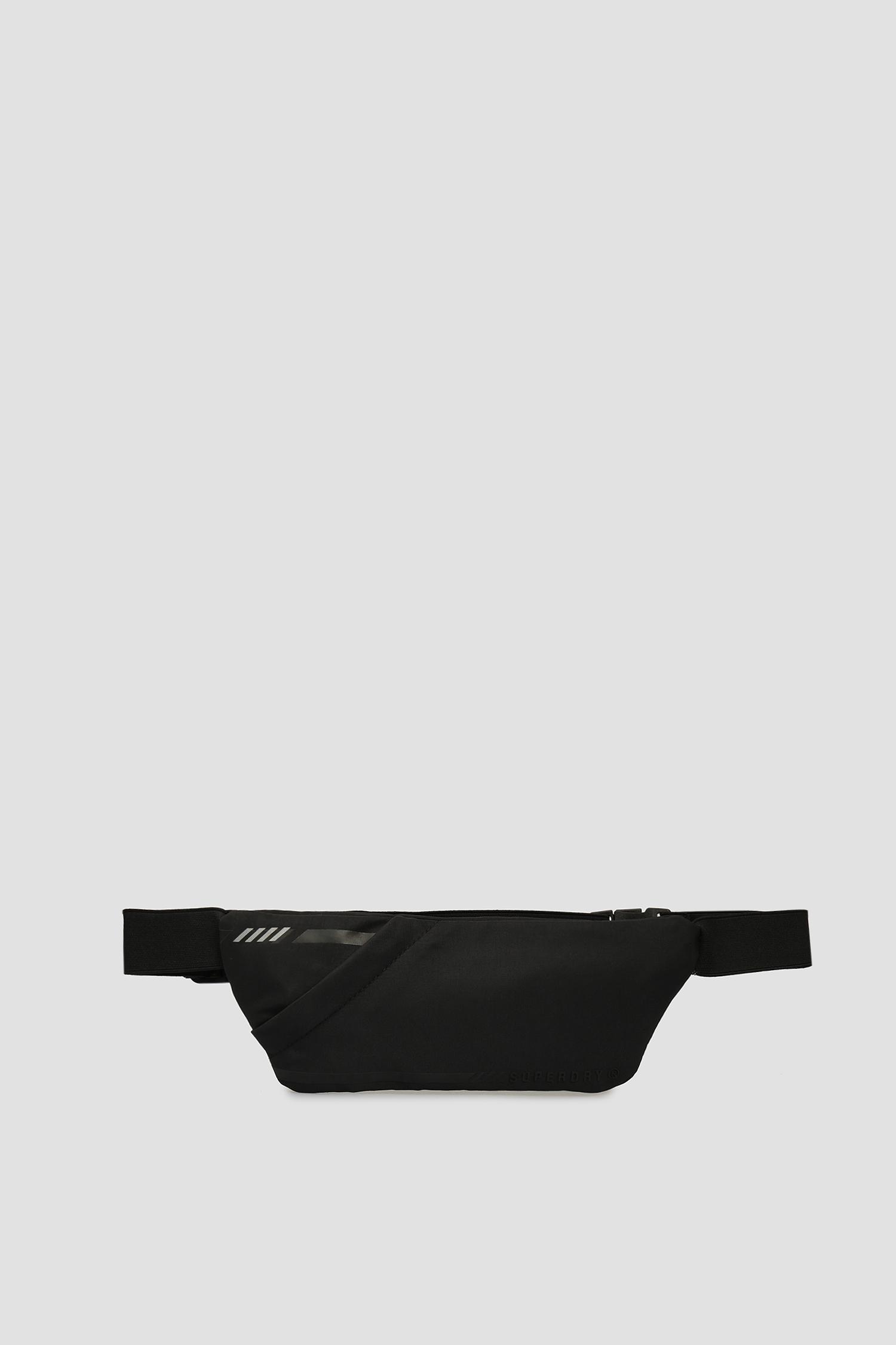 Мужская черная поясная сумка SuperDry MS410025A;02A