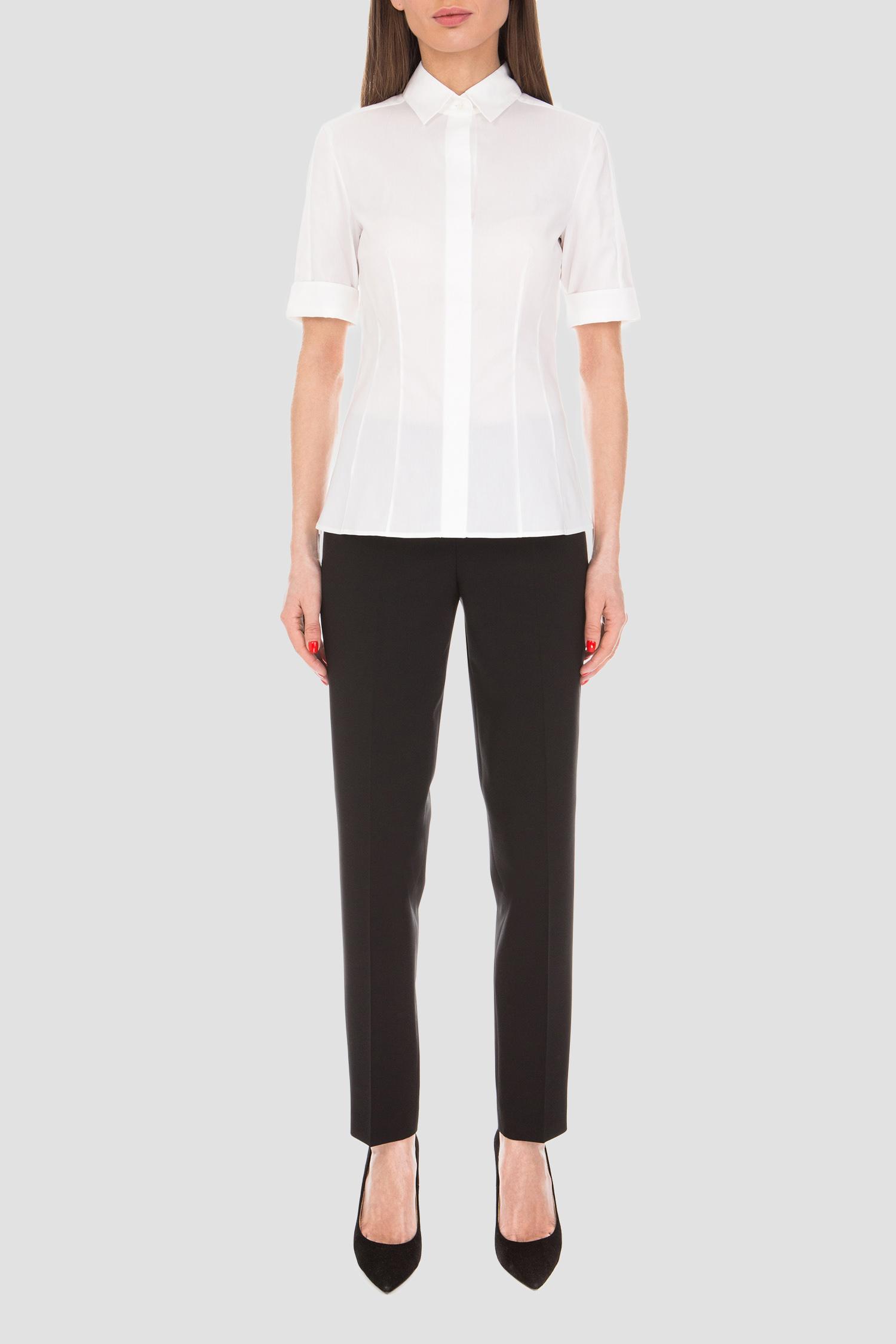 Женская белая блуза BOSS 50290242;100