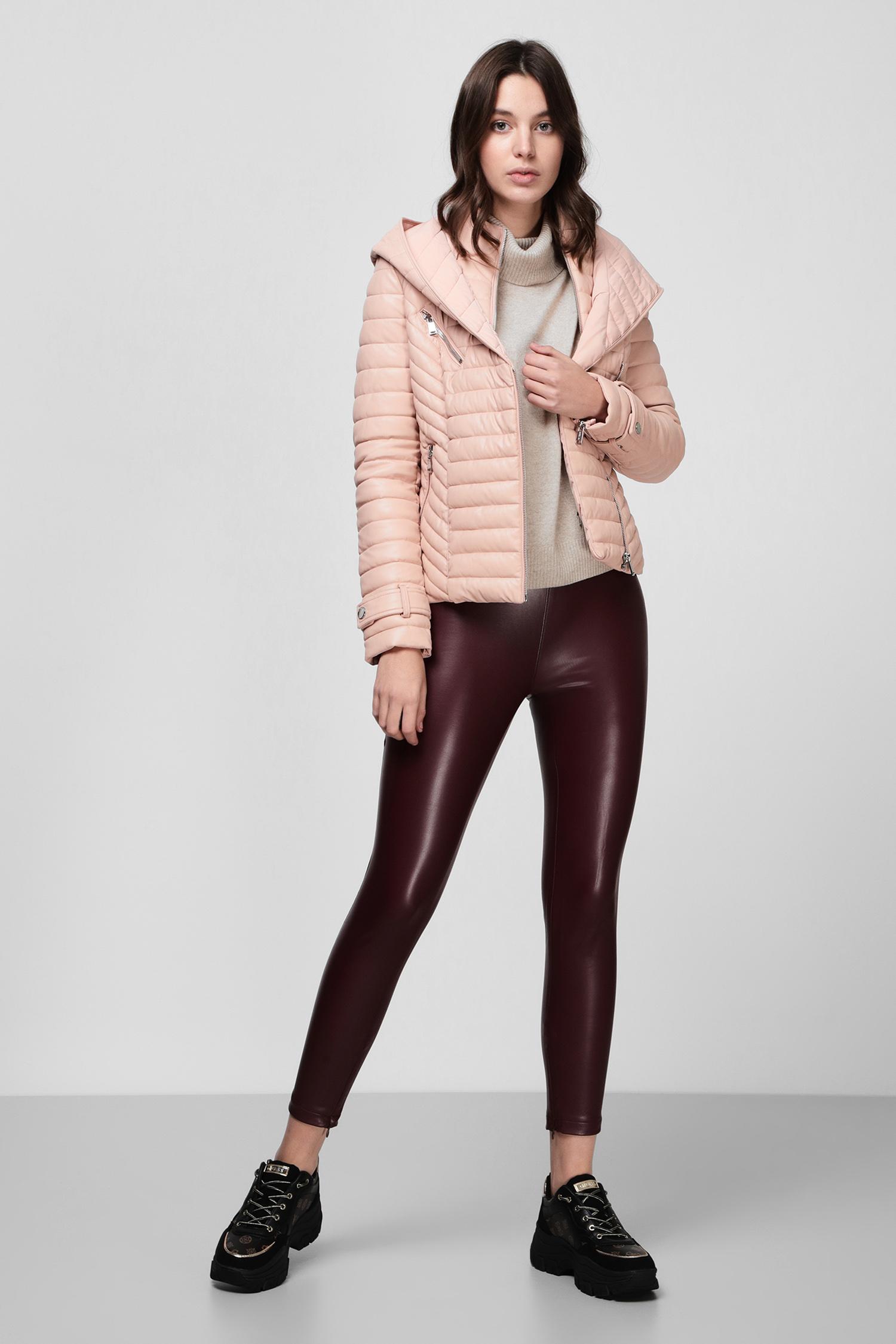 Женская пудровая куртка Guess W0BL89.WC550;G1AW