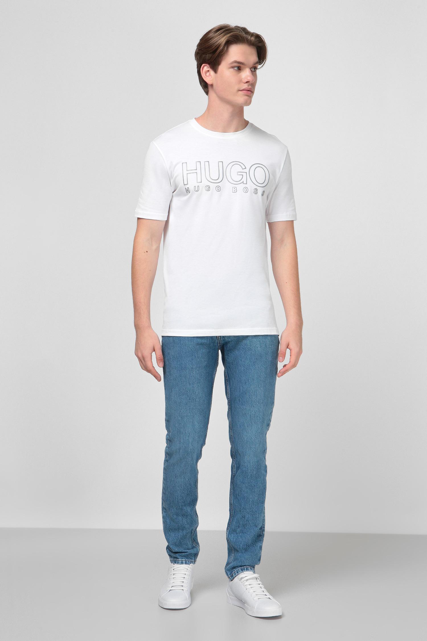 Белая футболка для парней HUGO 50425774;100