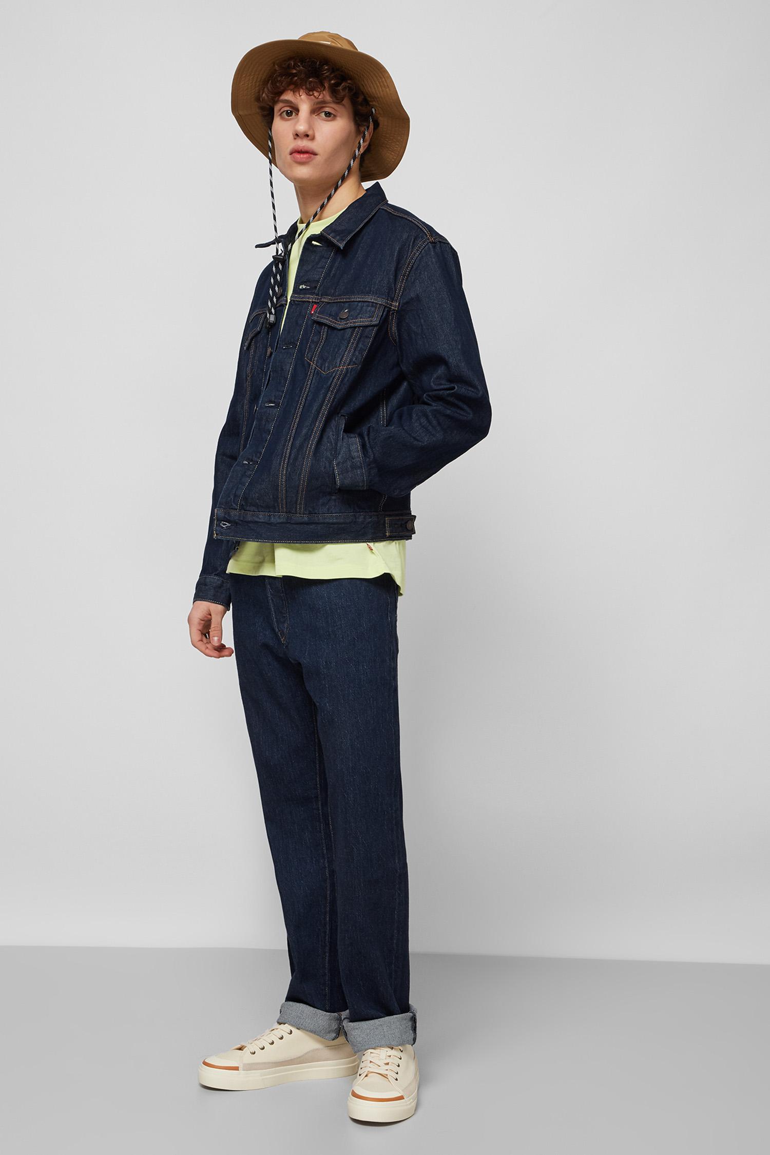 Мужская темно-синяя джинсовая куртка Levi's 72334;0557