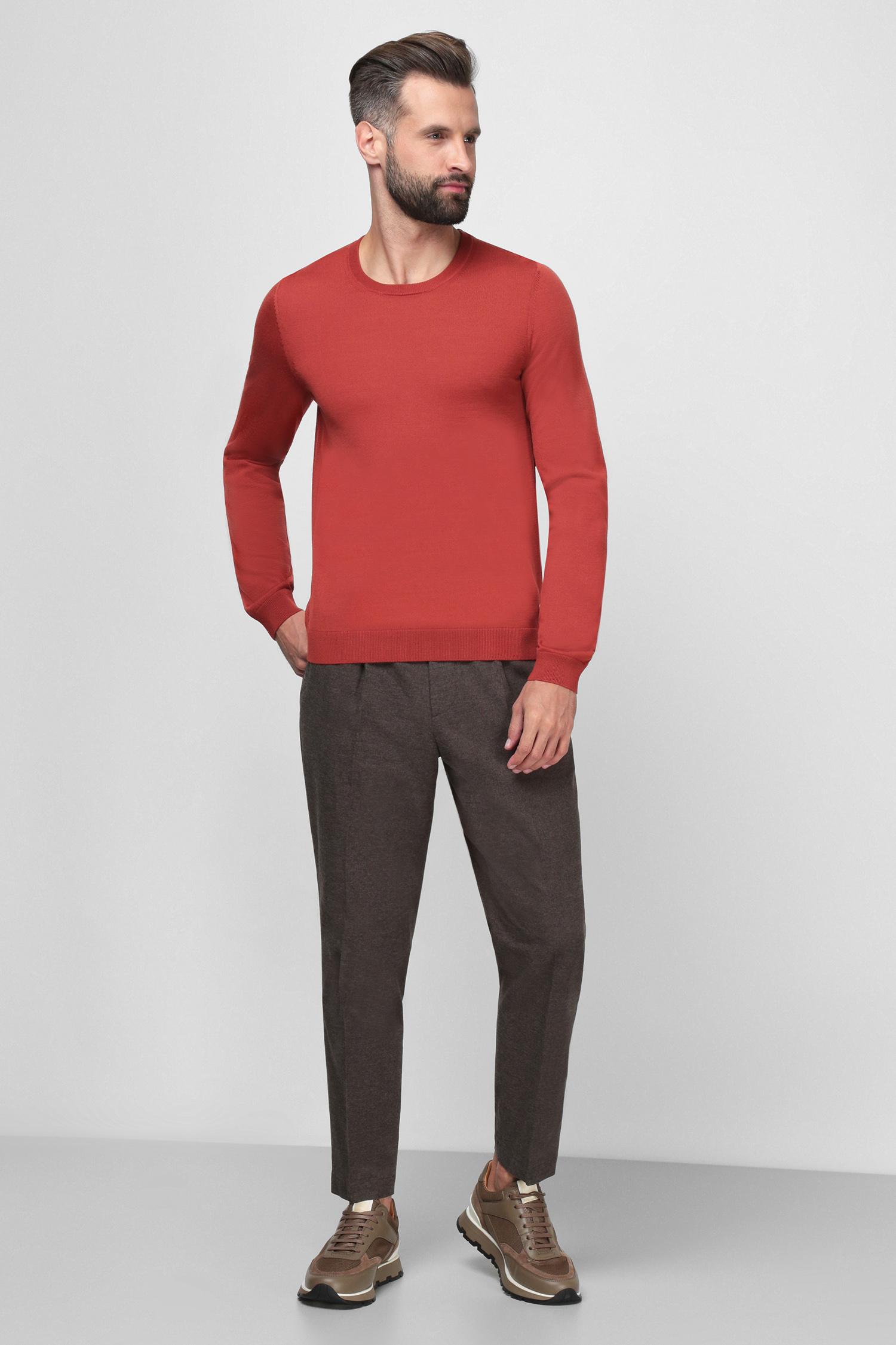 Чоловічі коричневі брюки BOSS 50459132;261