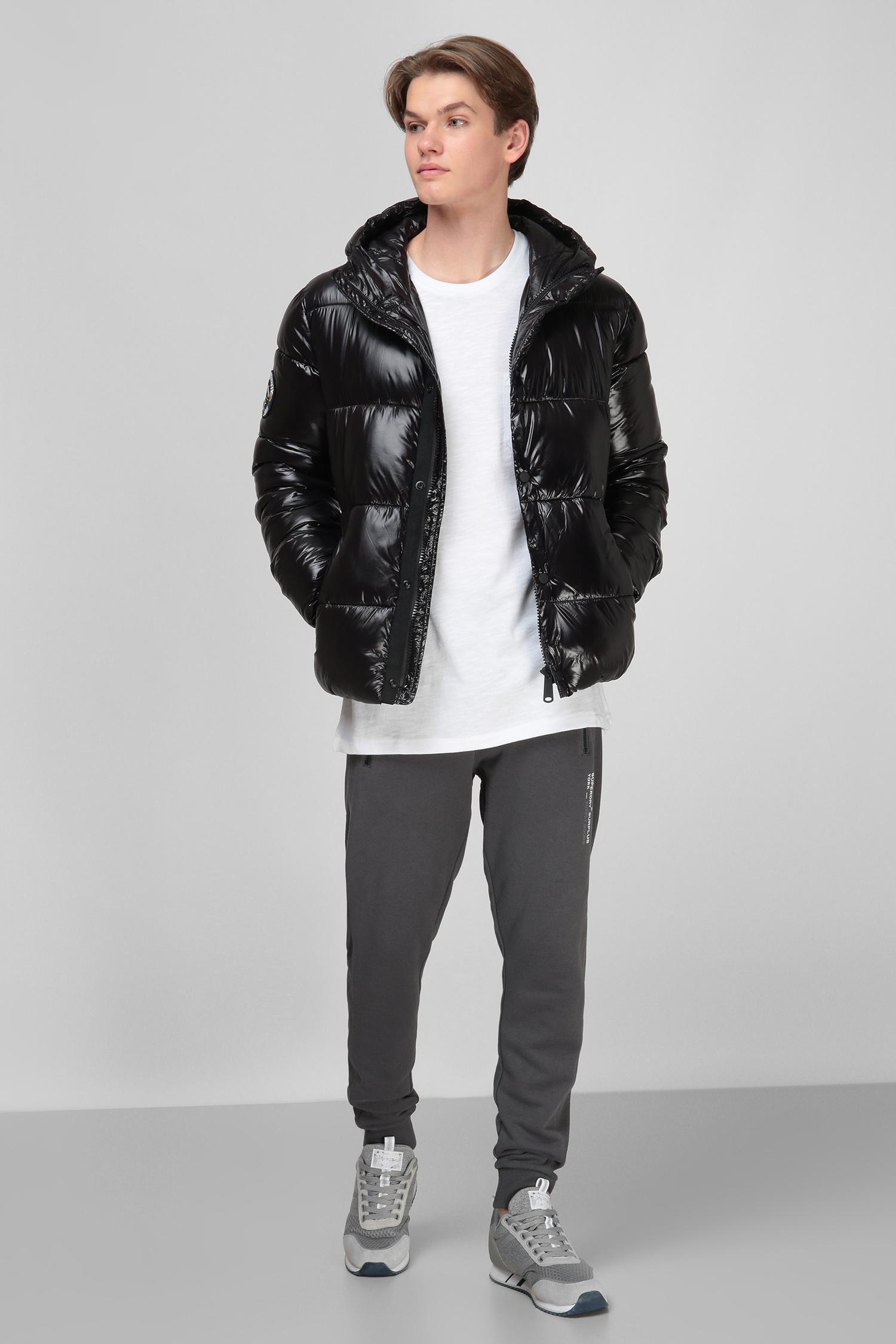 Черная куртка для парней SuperDry M5010189A;02A