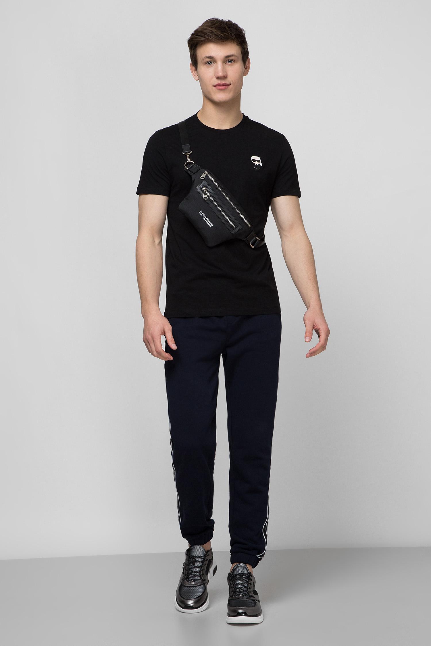 Мужские темно-синие спортивные брюки Karl Lagerfeld 501900.705030;690