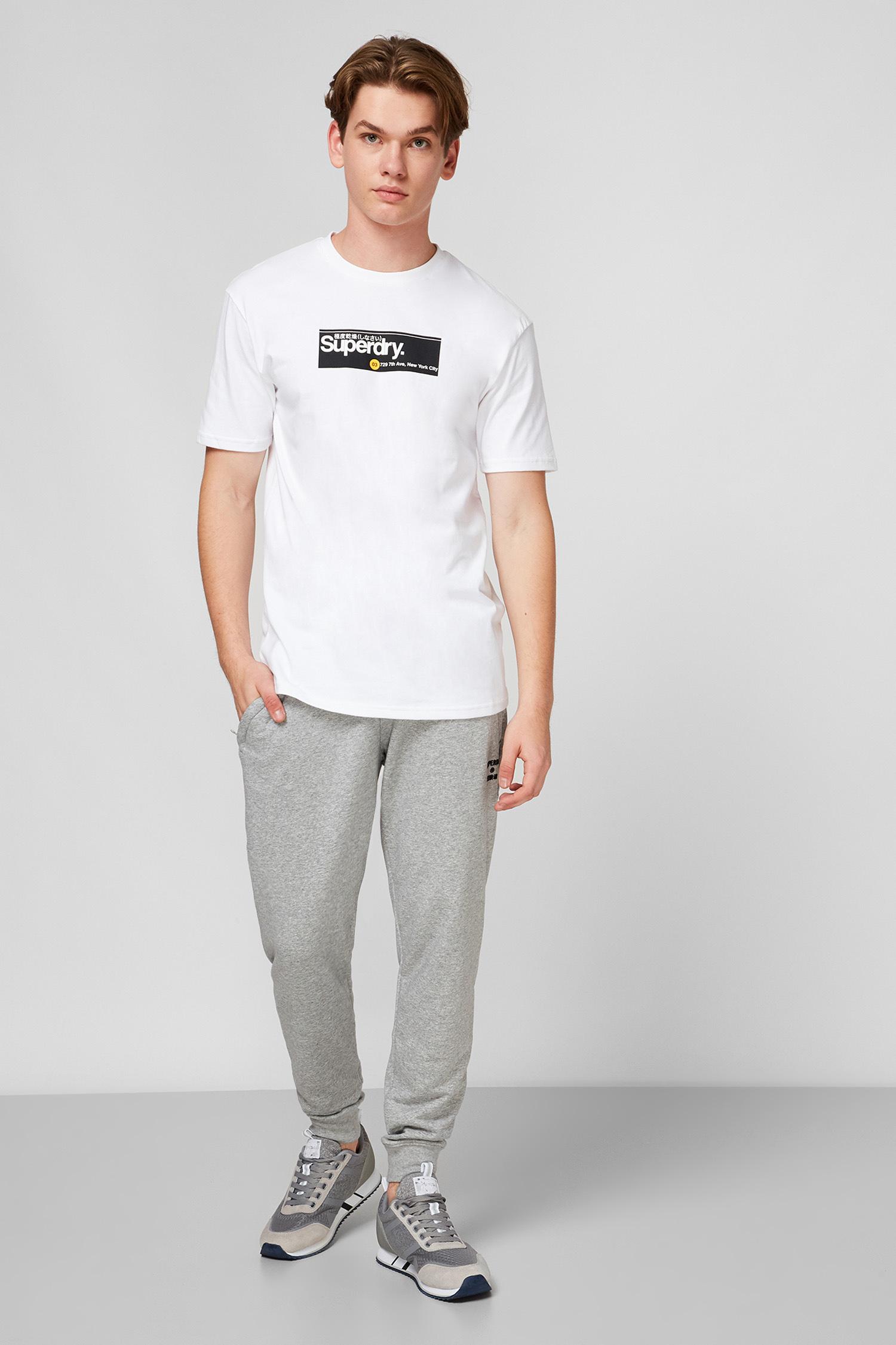 Белая футболка для парней SuperDry M1010343A;T7X