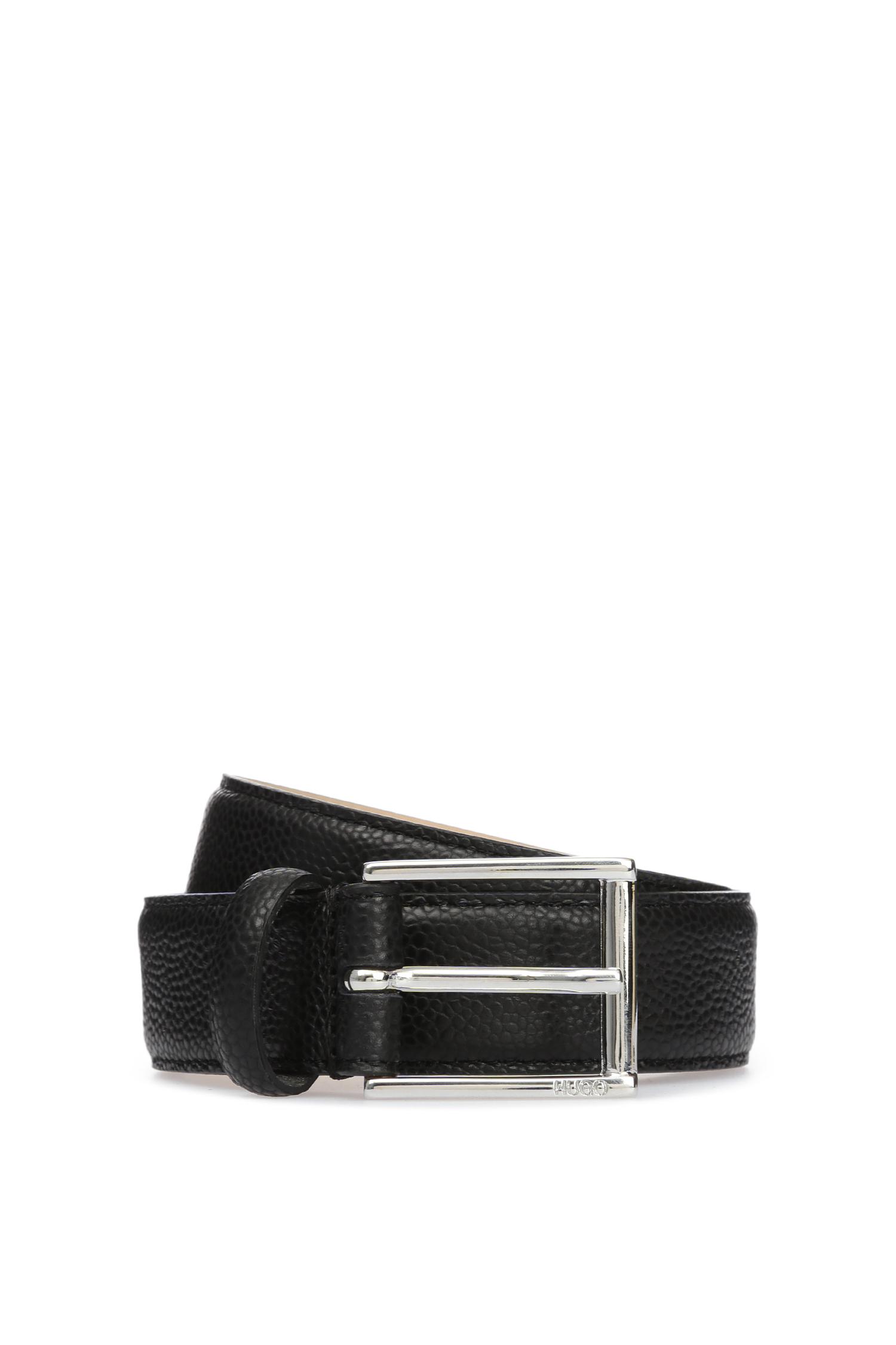Женский черный кожаный ремень HUGO 50397887;001