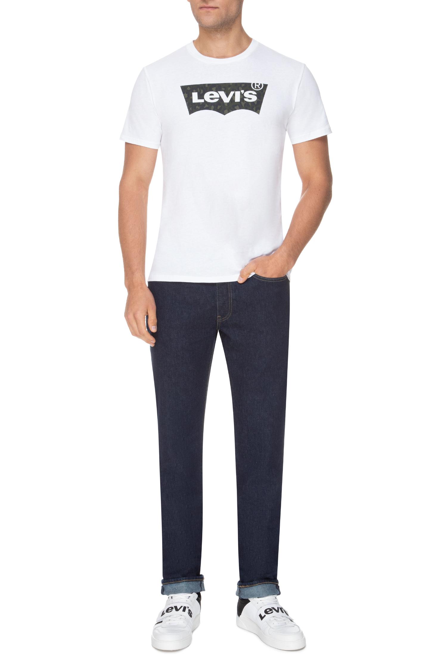Мужские темно-синие джинсы 514 Straight Levi's 00514;1276