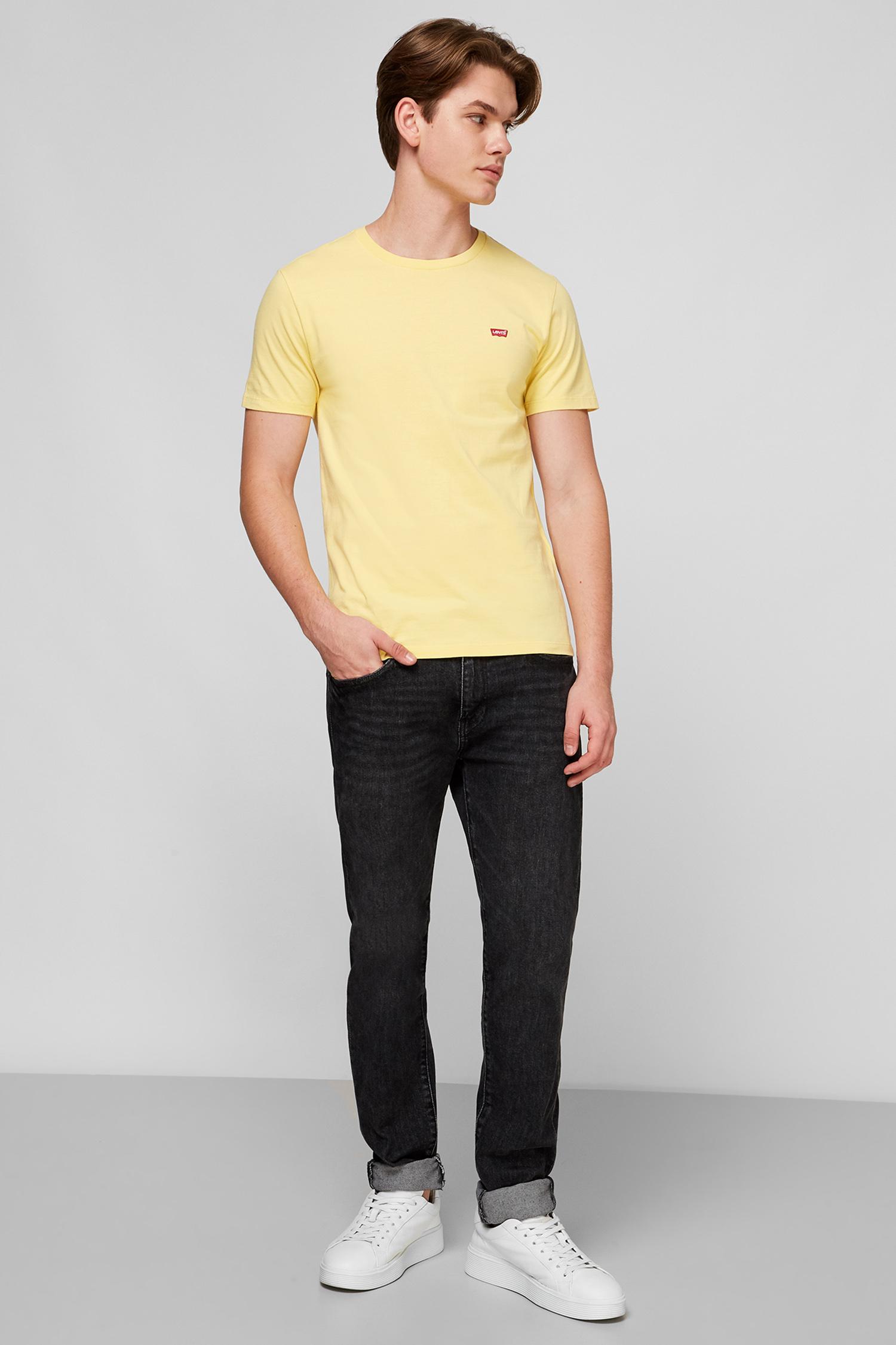 Желтая футболка для парней Levi's 56605;0061