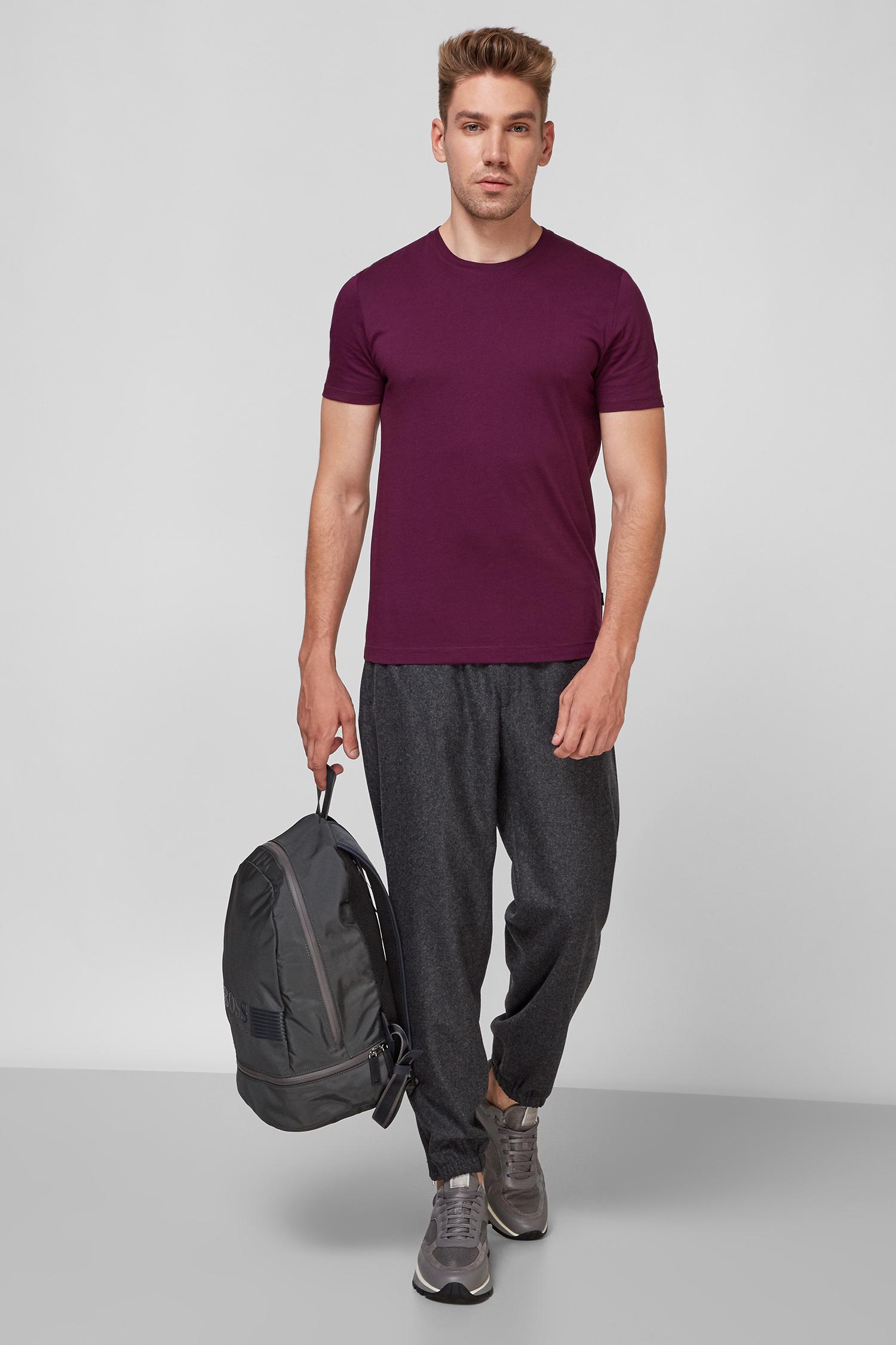 Чоловічі темно-сірі вовняні штани BOSS 50458831;061