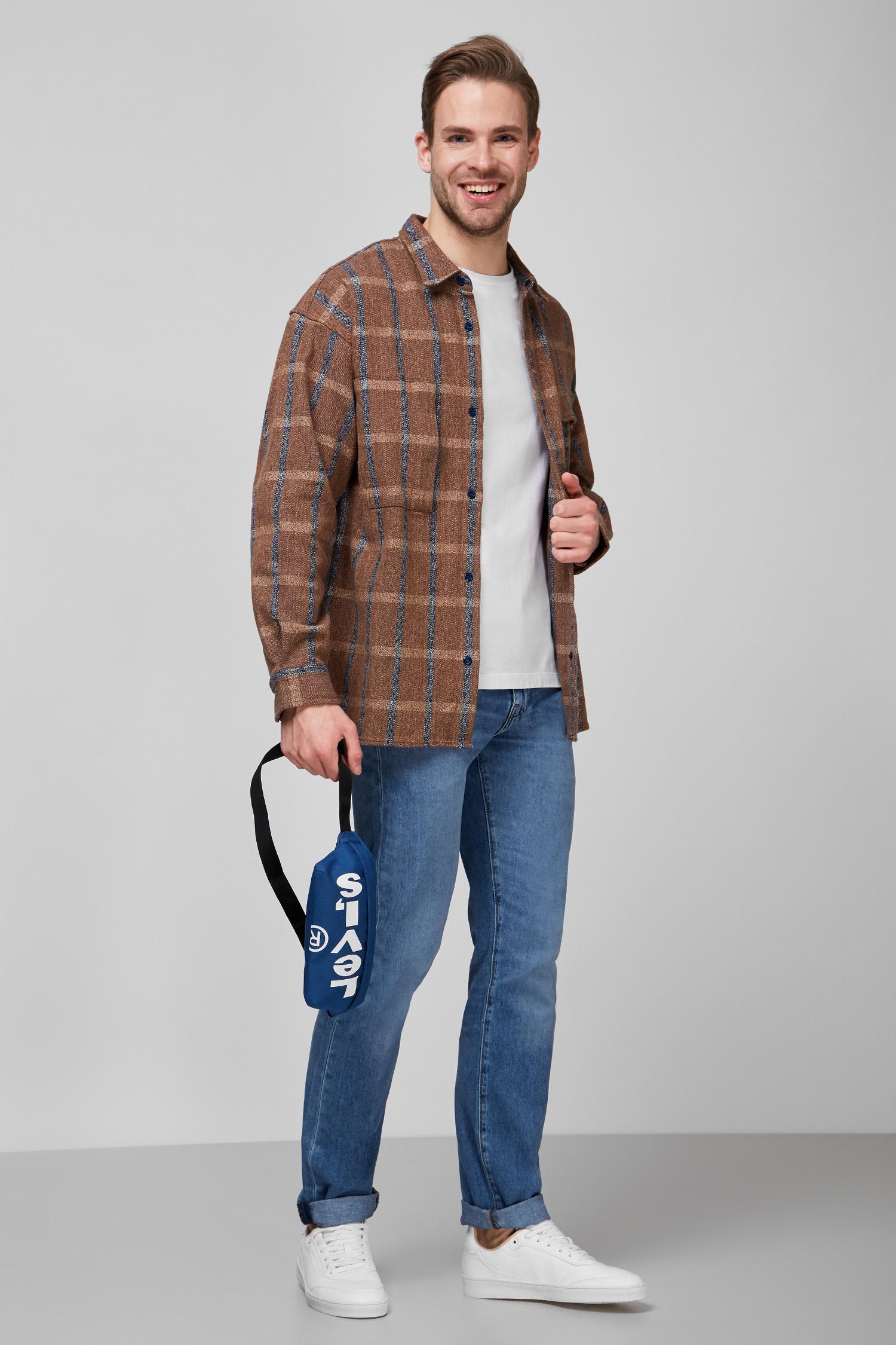 Мужская коричневая рубашка Levi`s X Made&Crafted Levi's 21257;0001