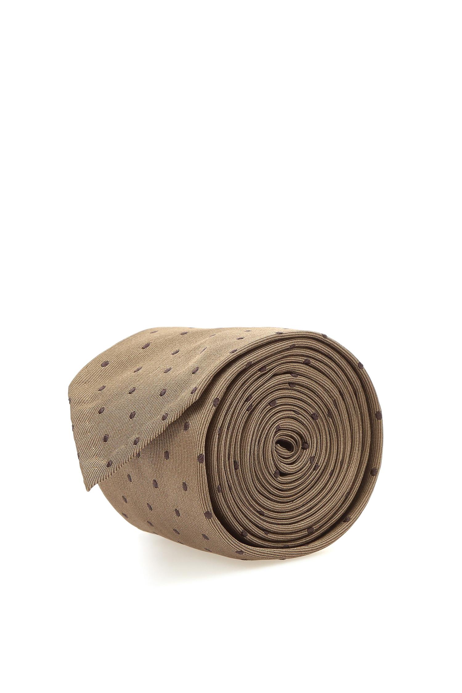 Коричневый галстук для парней BOSS 50398135;250