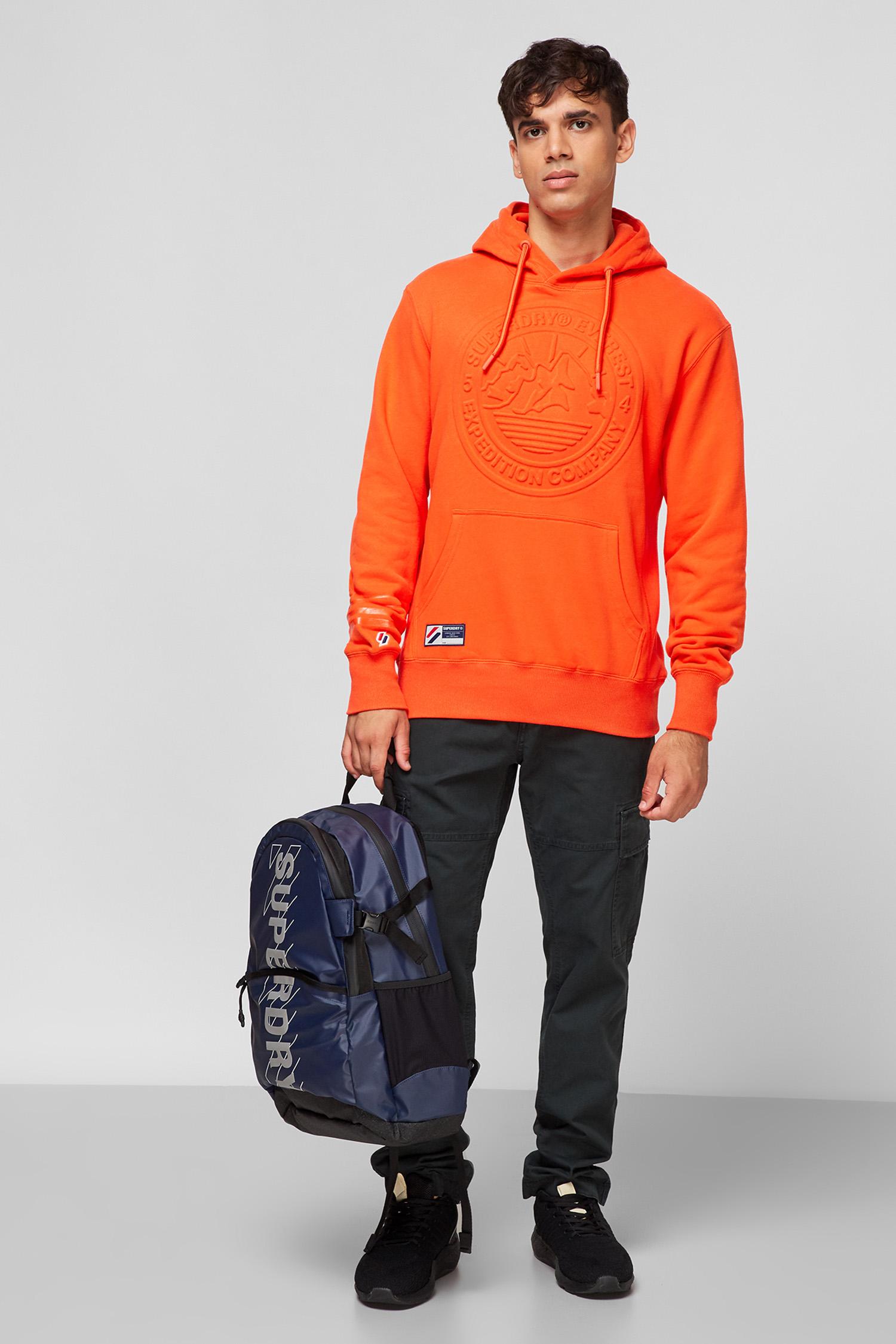 Чоловіче помаранчеве худі SuperDry M2011363A;UM2