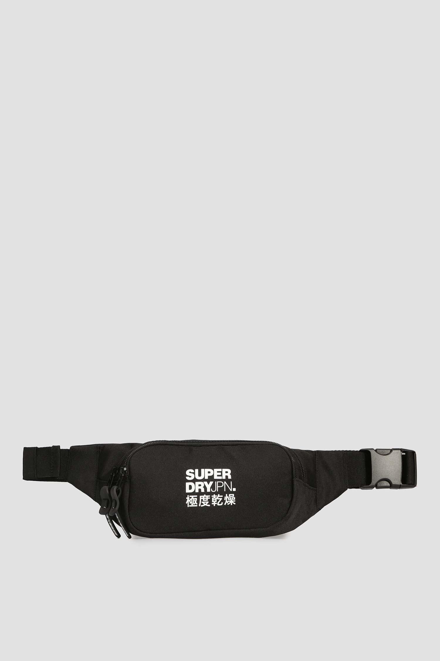 Мужская черная поясная сумка SuperDry M9110042A;02A