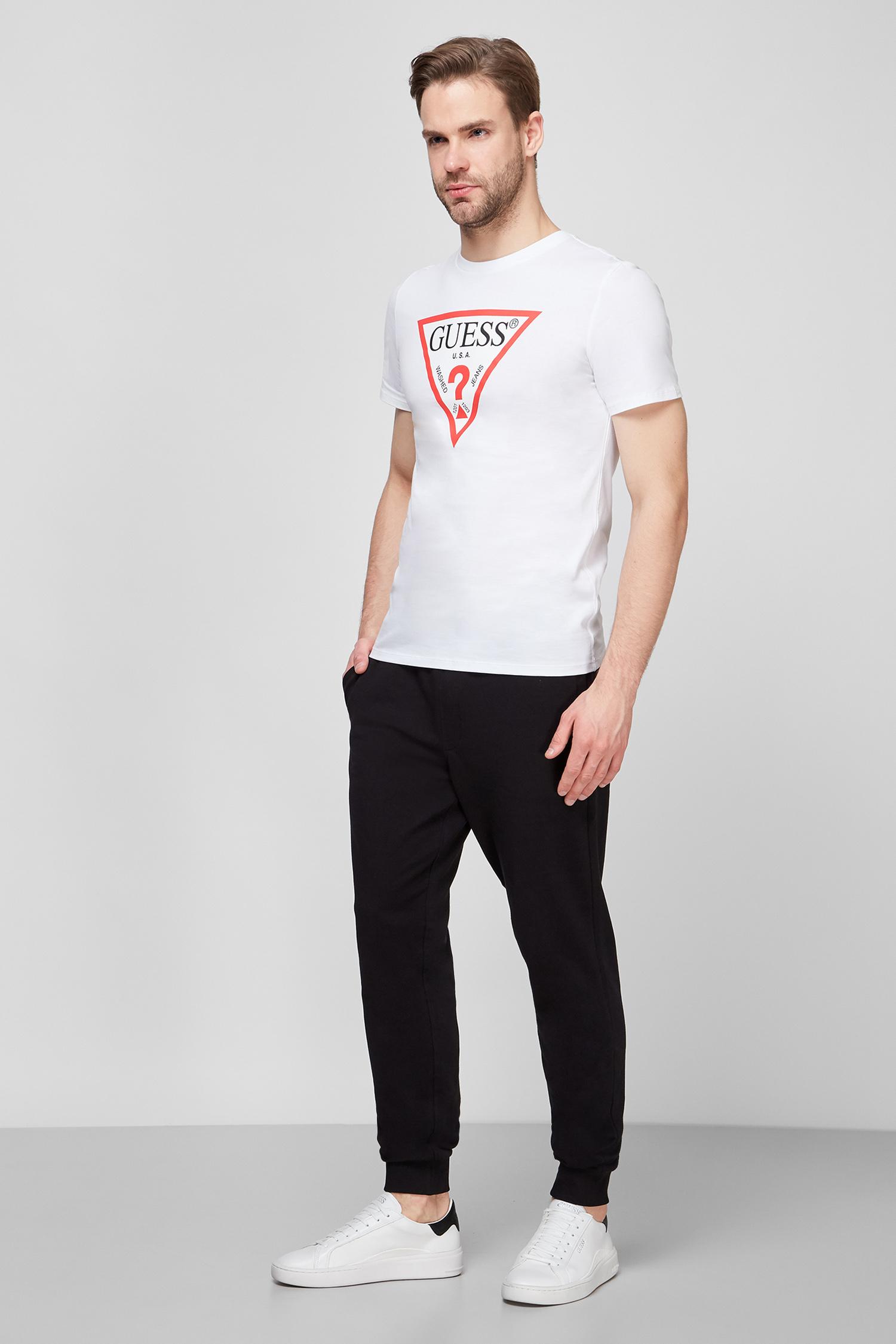 Мужская белая футболка Guess M0BI71.I3Z11;TWHT