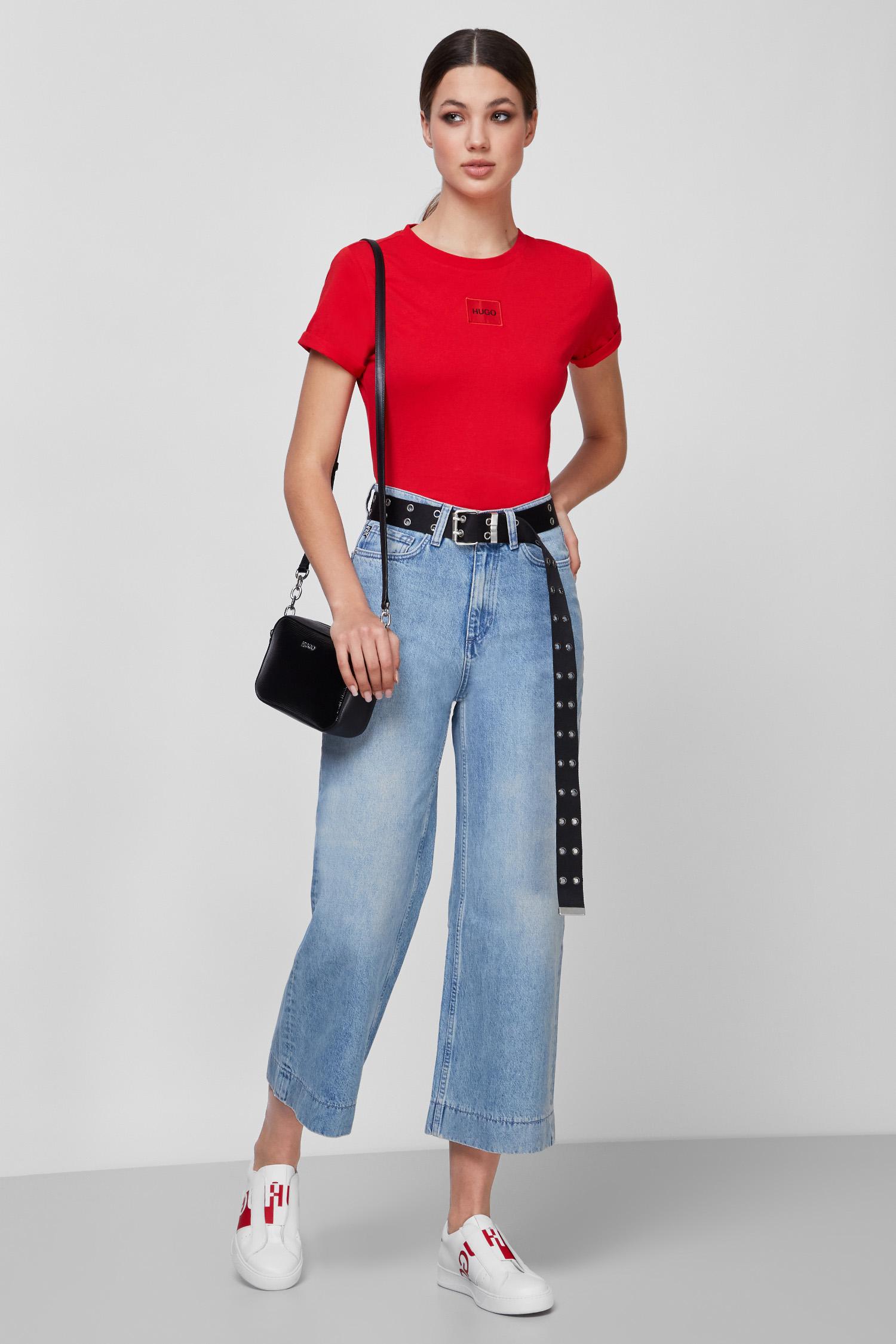 Женские голубые джинсы HUGO 50449611;033