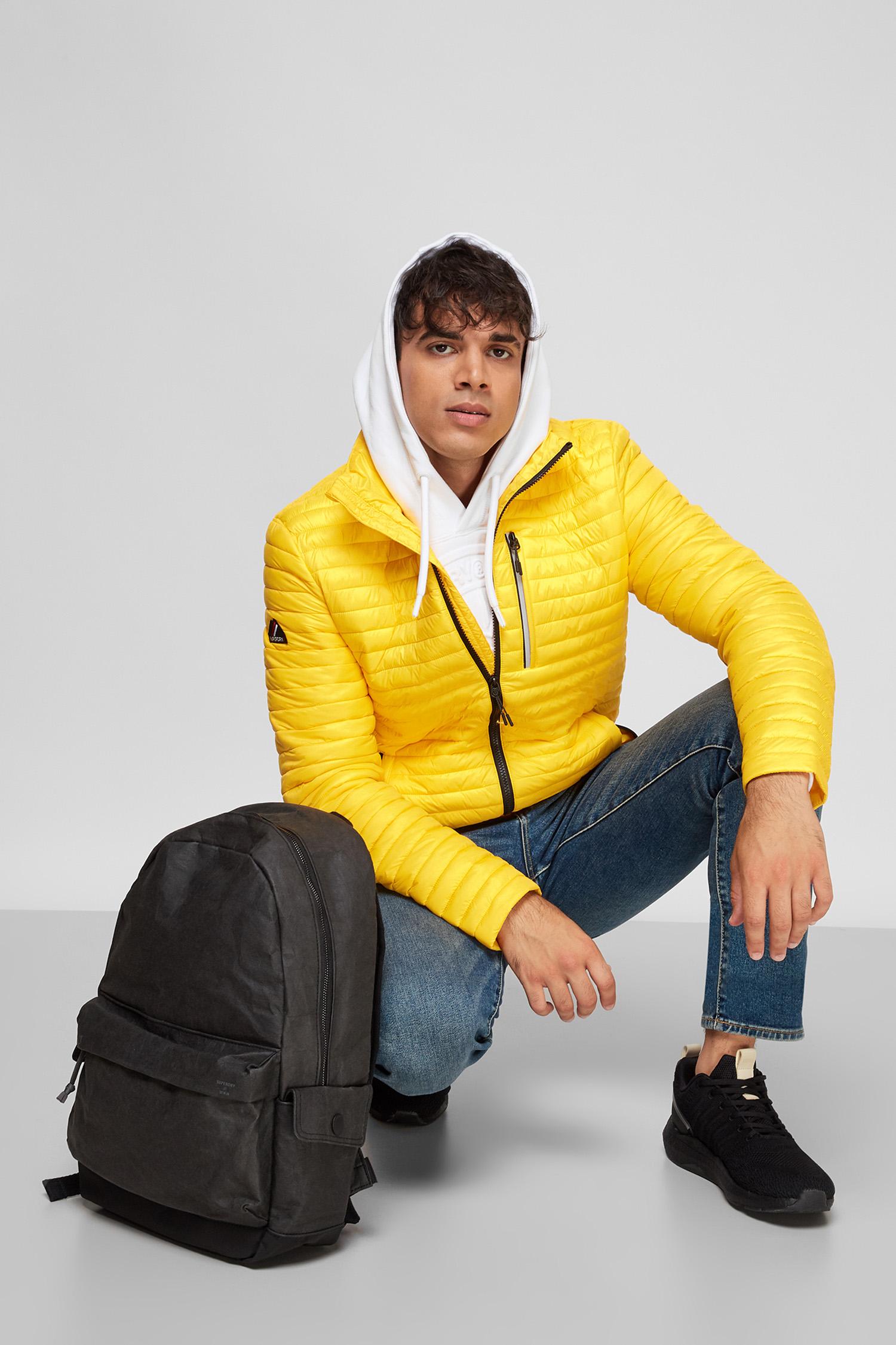 Чоловіча жовта куртка SuperDry M5010122A;F01