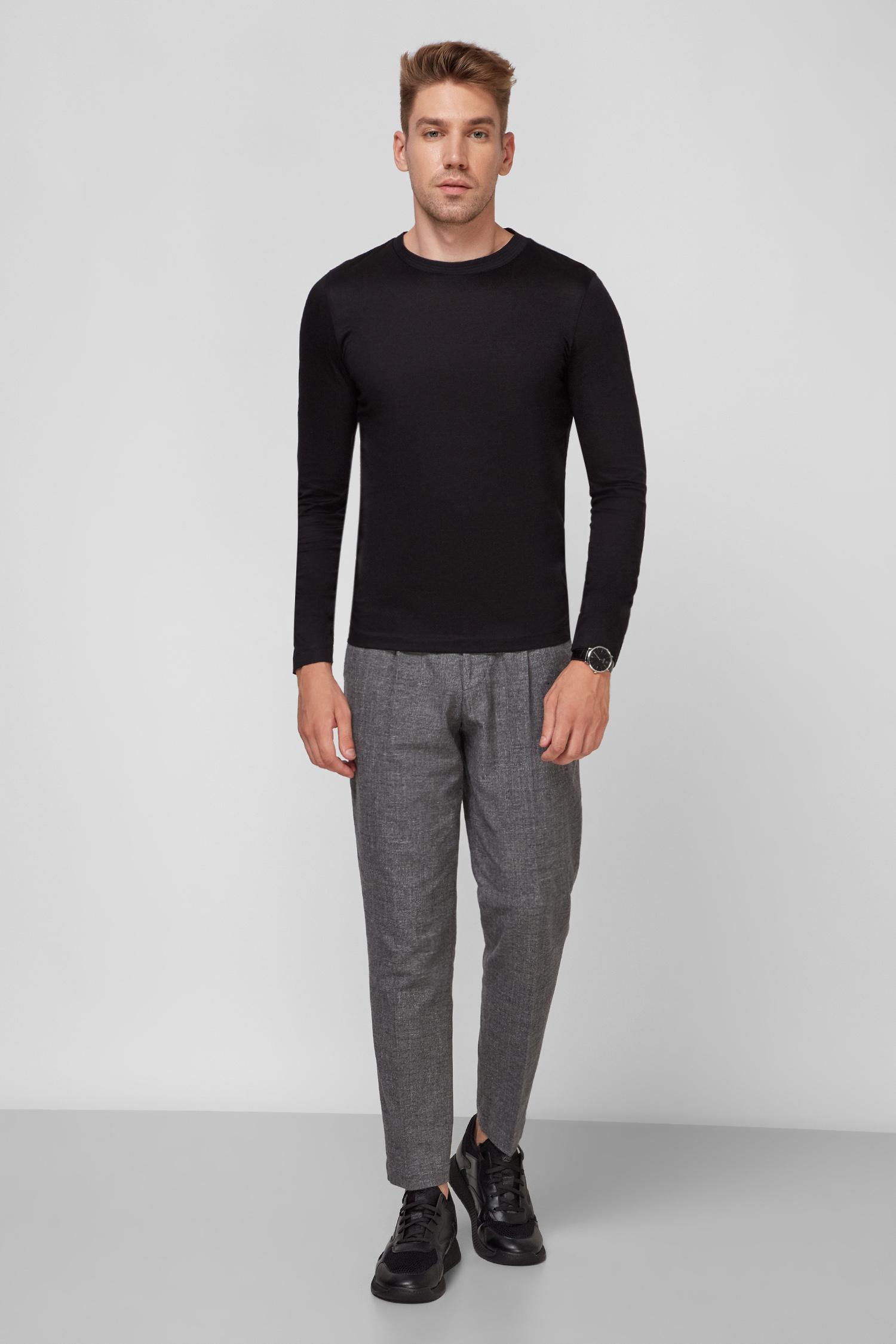 Чоловічі темно-сірі брюки BOSS 50458970;030