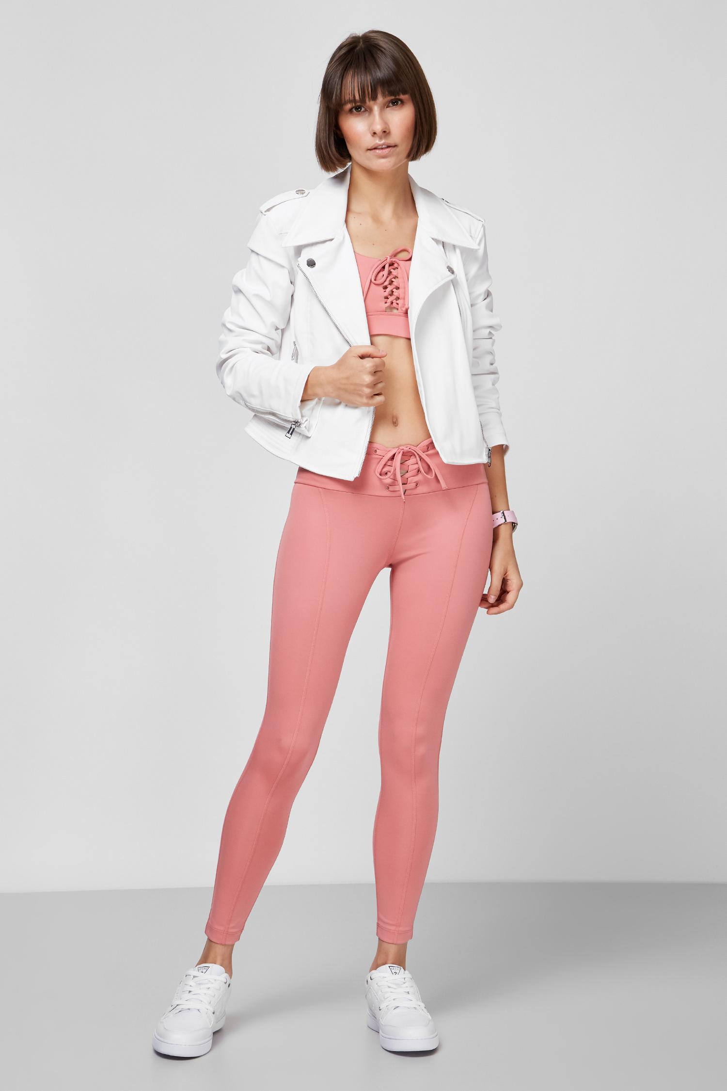 Женская белая куртка Guess W1GL11.WDOC0;TWHT