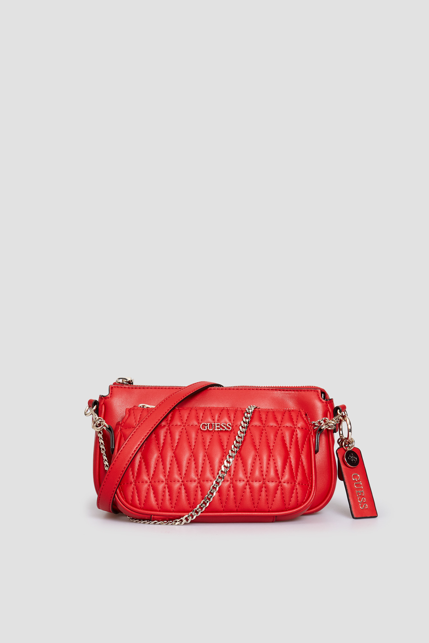 Красная сумка через плечо для девушек Guess HWVG78.85700;RED