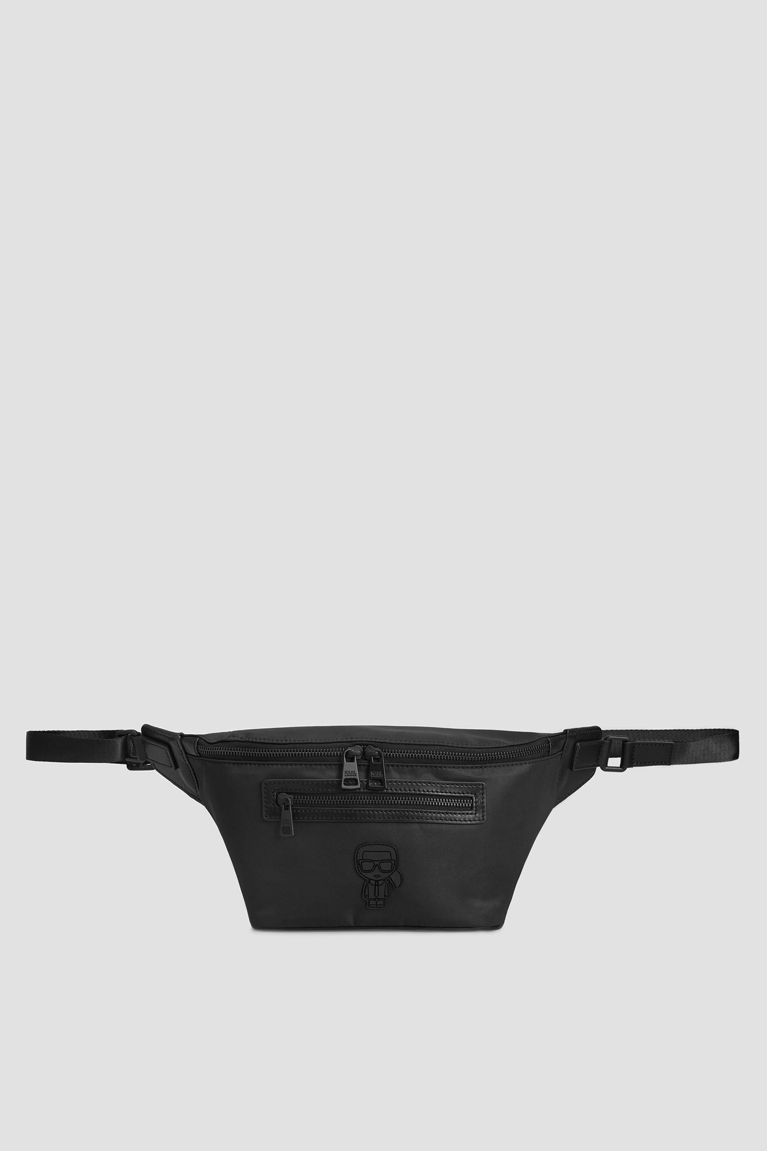 Чоловіча чорна поясна сумка Karl Lagerfeld 502113.805924;990
