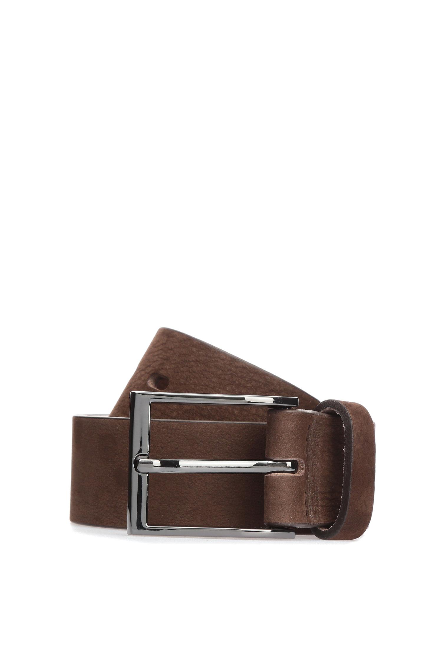 Мужской коричневый кожаный ремень Karl Lagerfeld 582431.815300;490