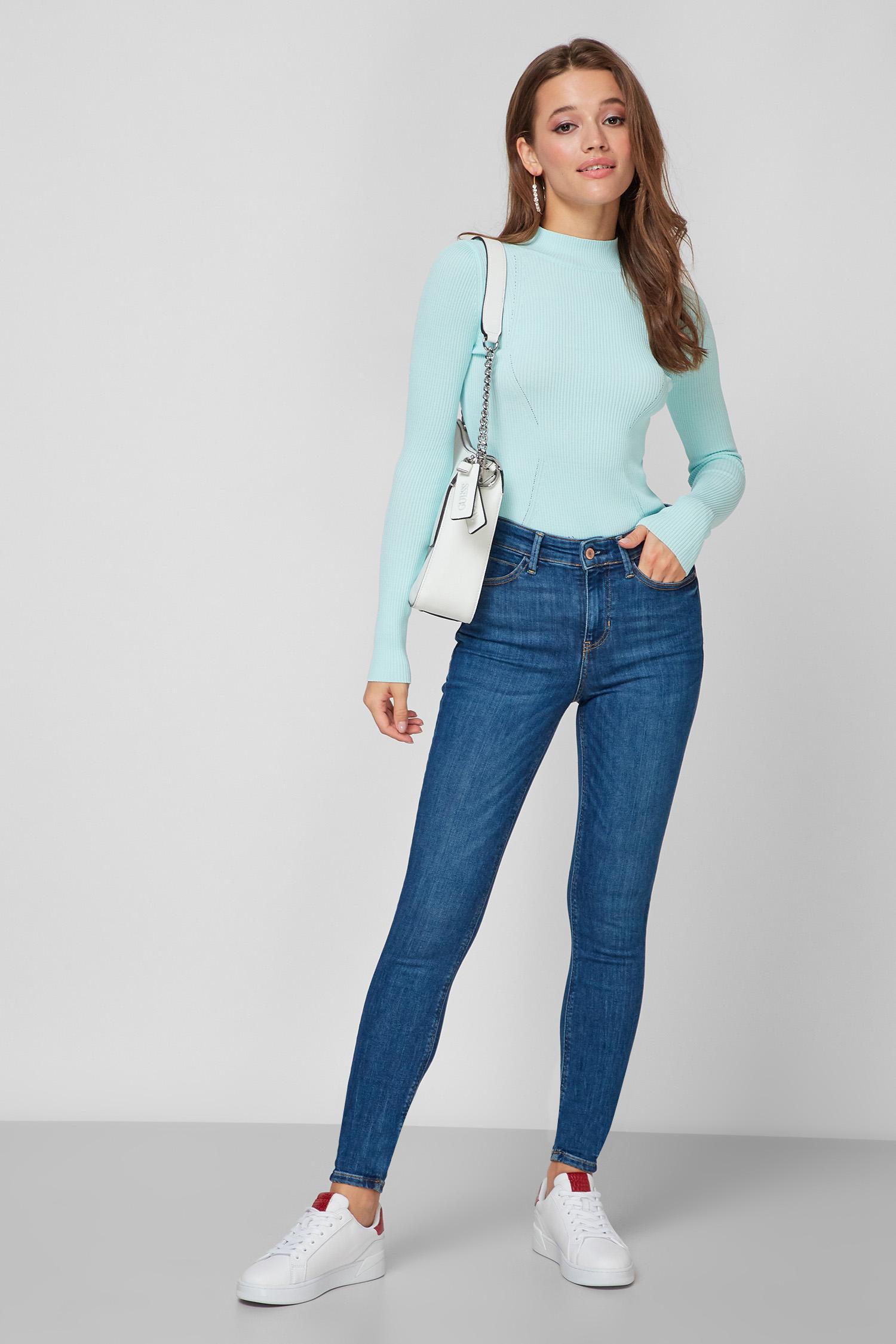 Жіночі сині джинси Guess W1YA46.D4GV2;CRM2