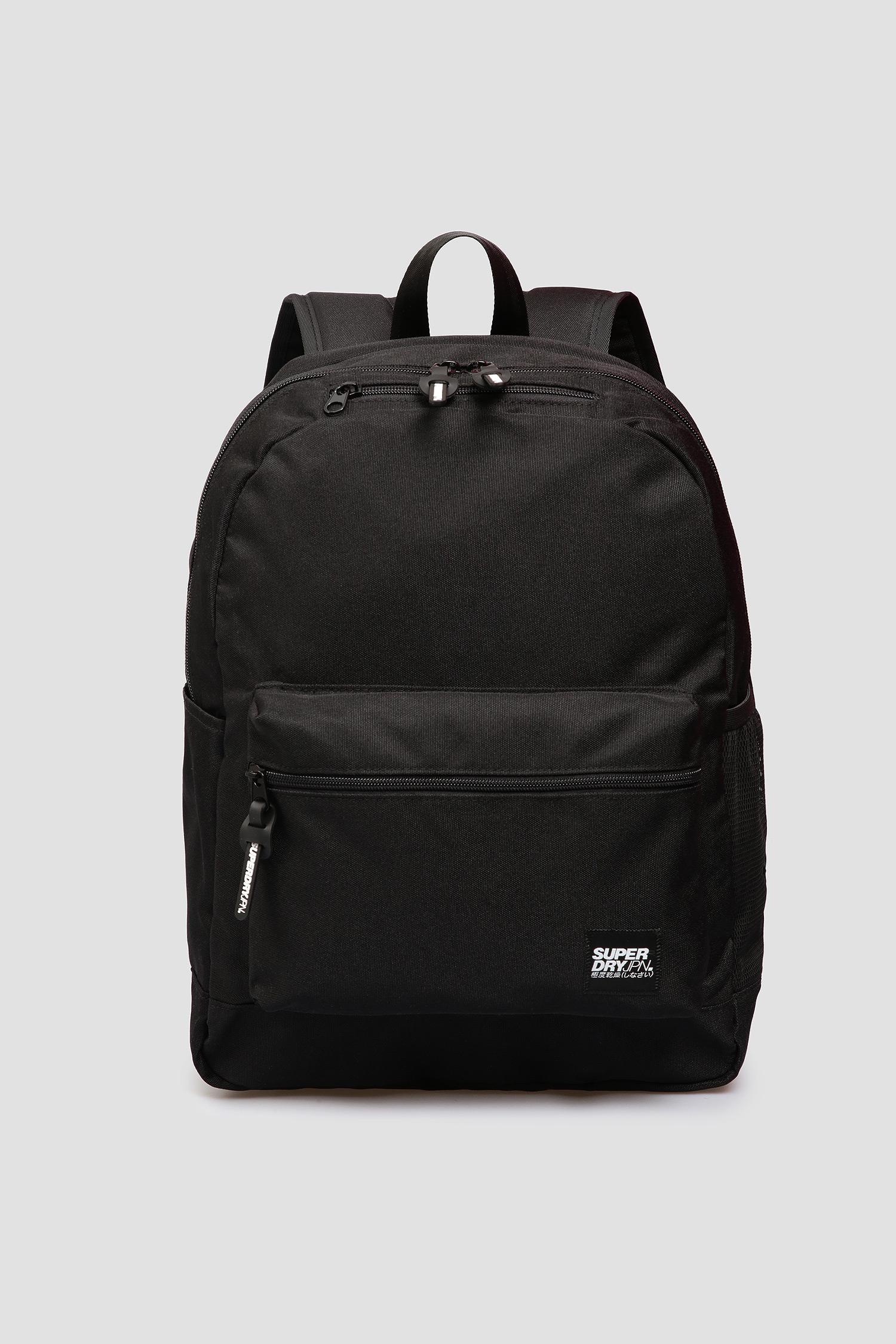 Мужской черный рюкзак SuperDry M9110040A;02A
