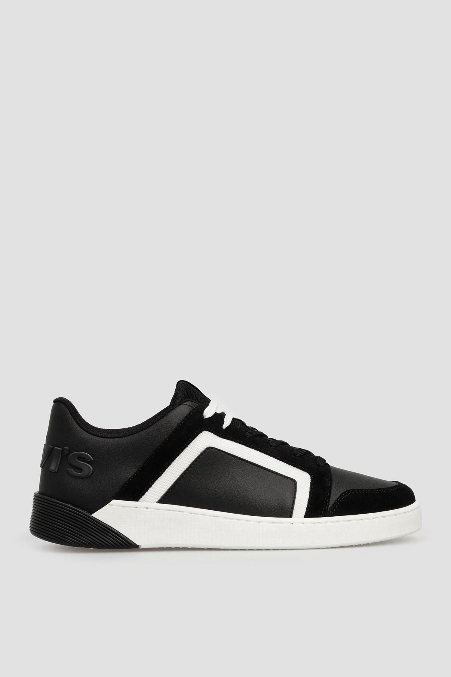 Мужские черные кроссовки Levi's 231582;795.59