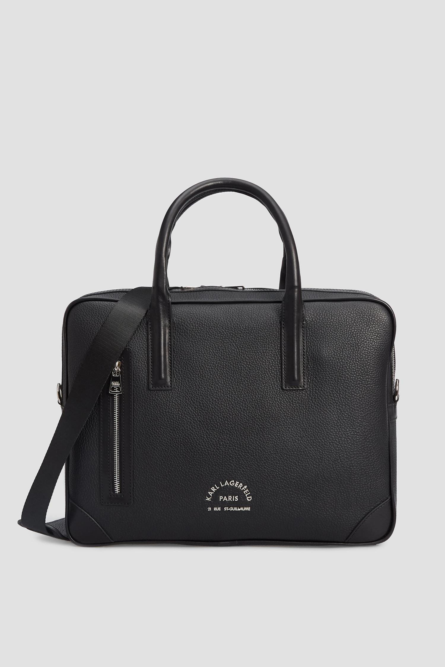 Чоловіча чорна сумка для ноутбука Karl Lagerfeld 502451.815902;990