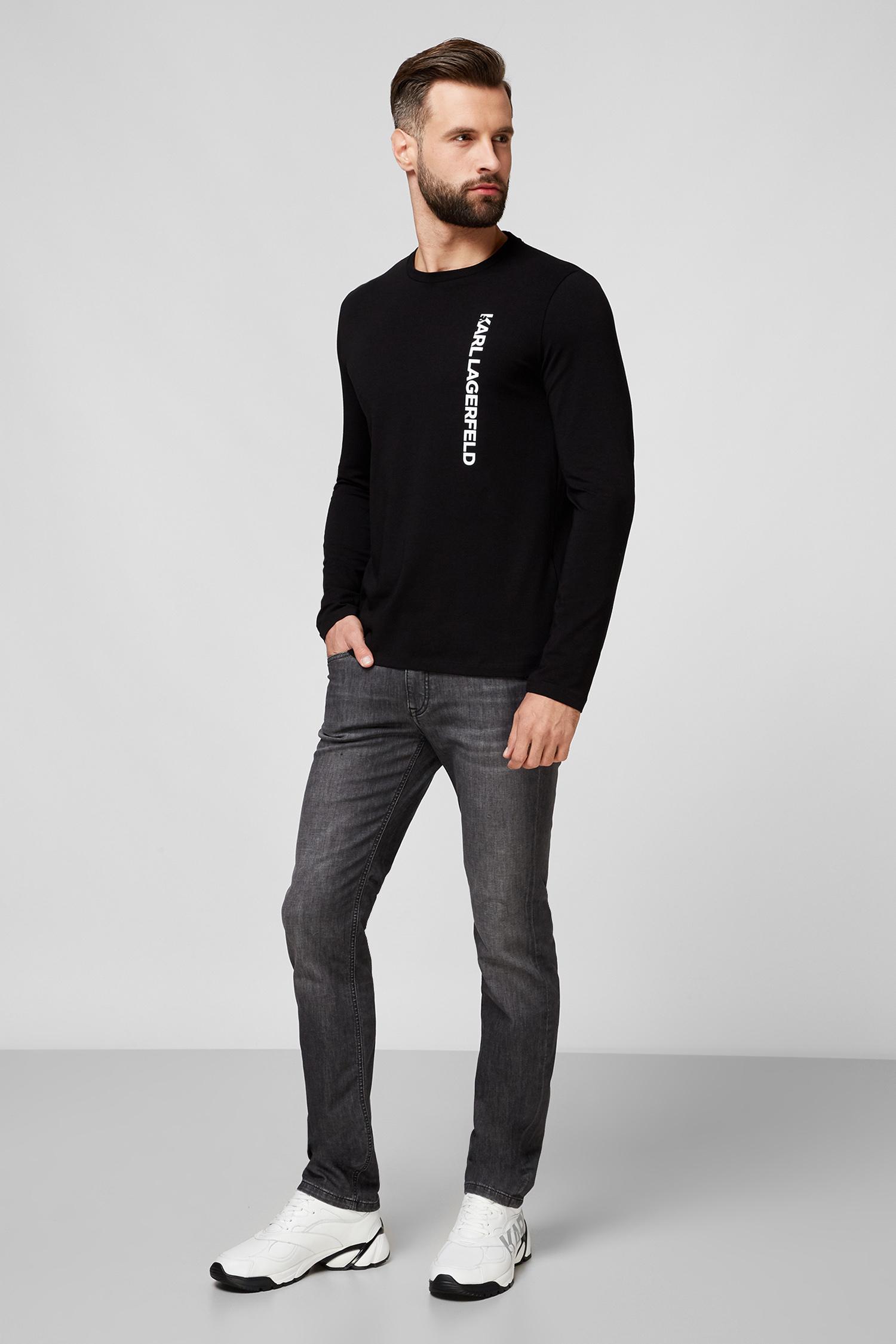 Мужские серые джинсы Karl Lagerfeld 501833.265840;990