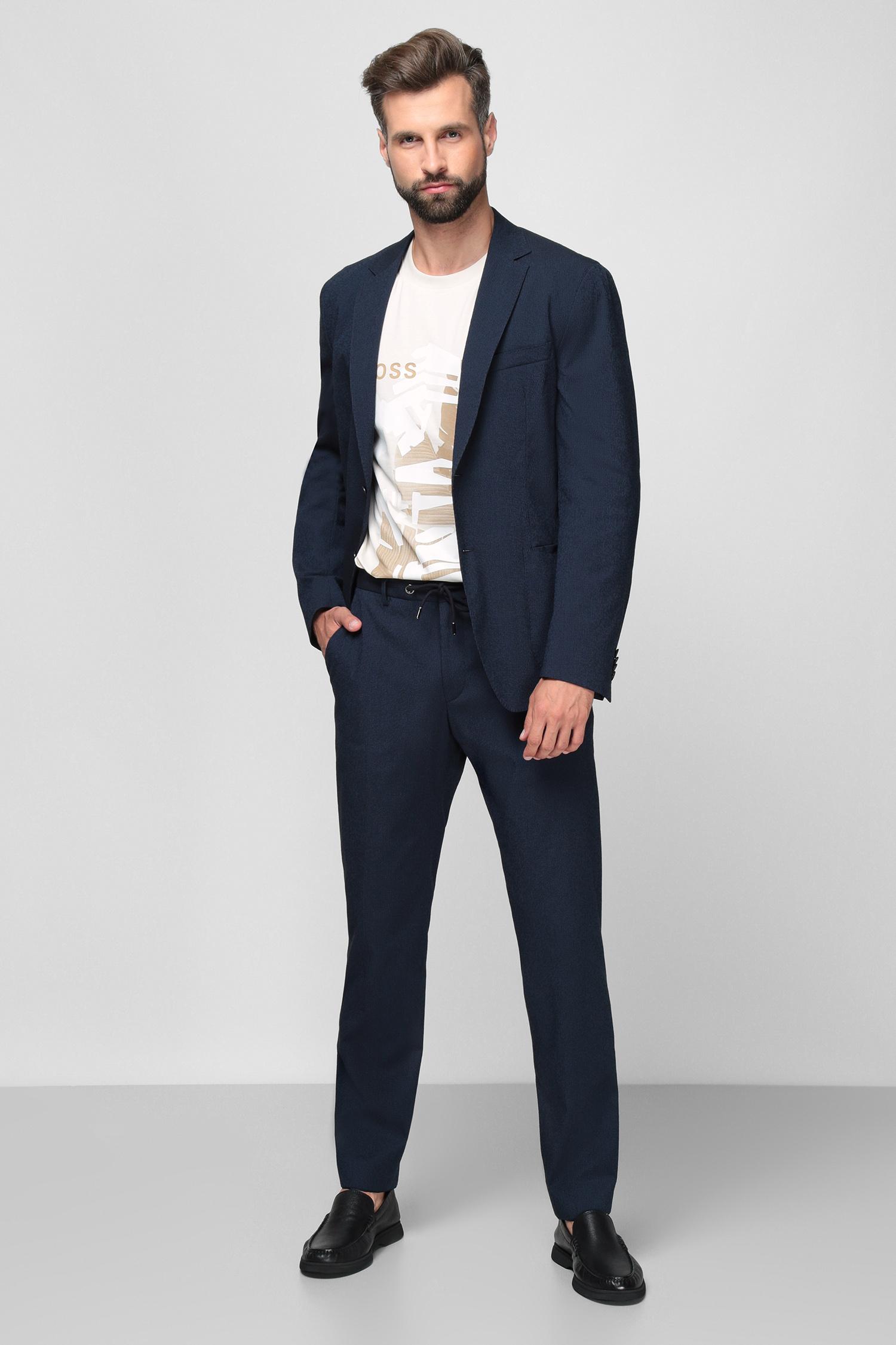 Чоловічі сині брюки BOSS 50453742;402