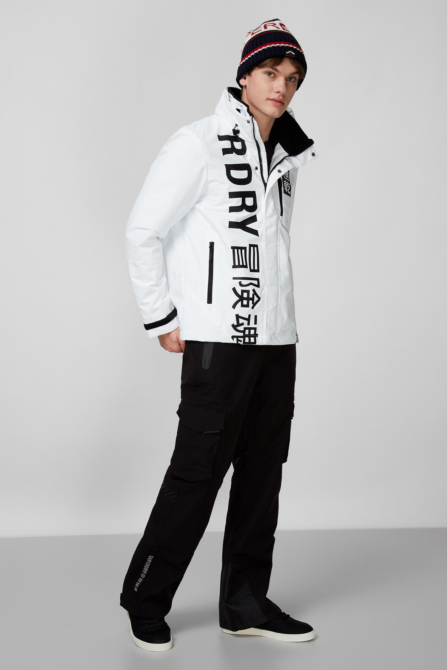 Белая куртка для парней SuperDry M5010454A;4MD