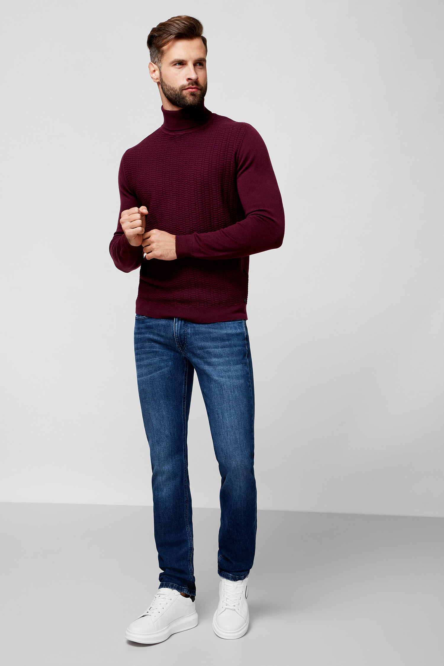 Мужские темно-синие джинсы Karl Lagerfeld 500899.265840;670