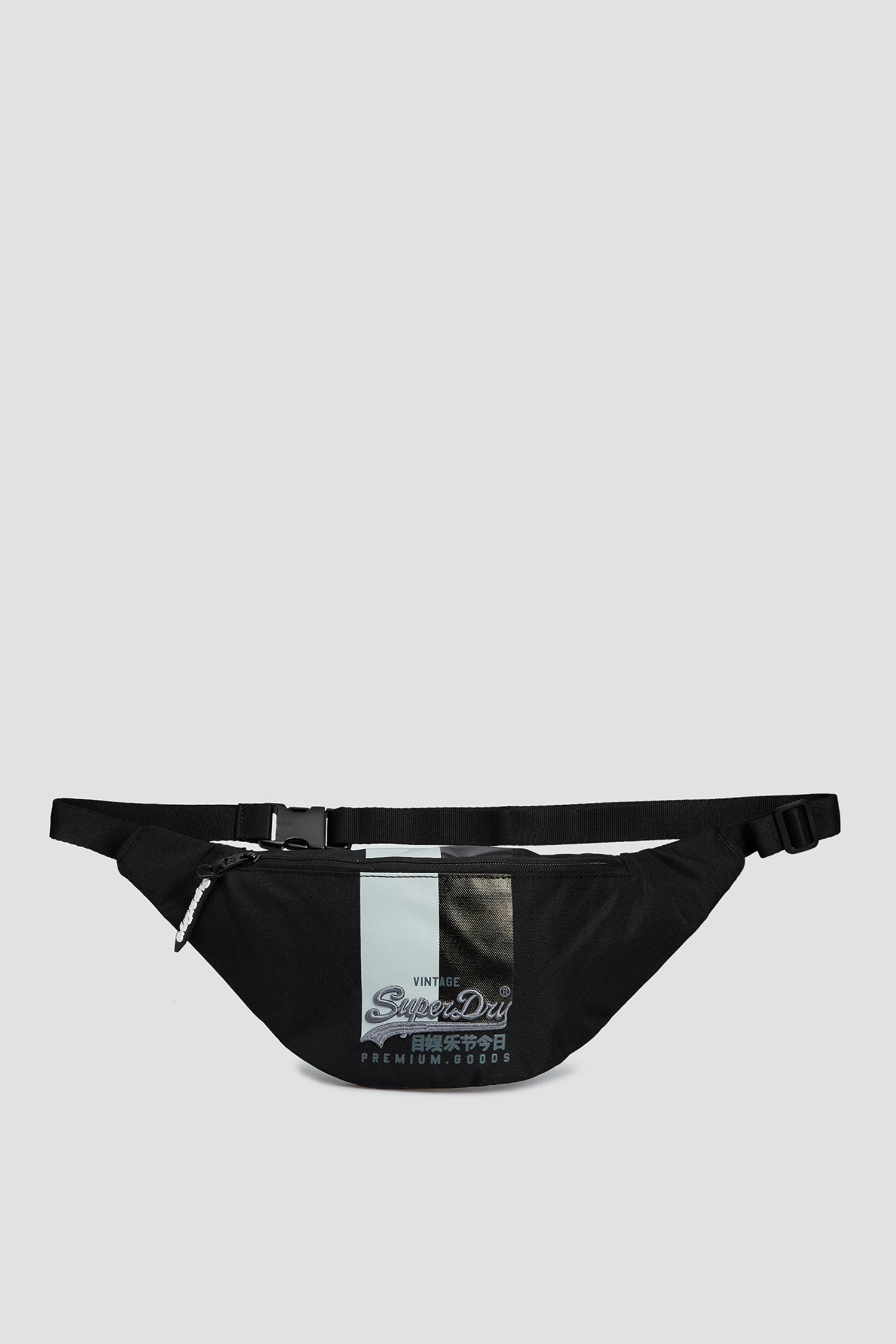 Мужская черная поясная сумка SuperDry M9110167A;14Q