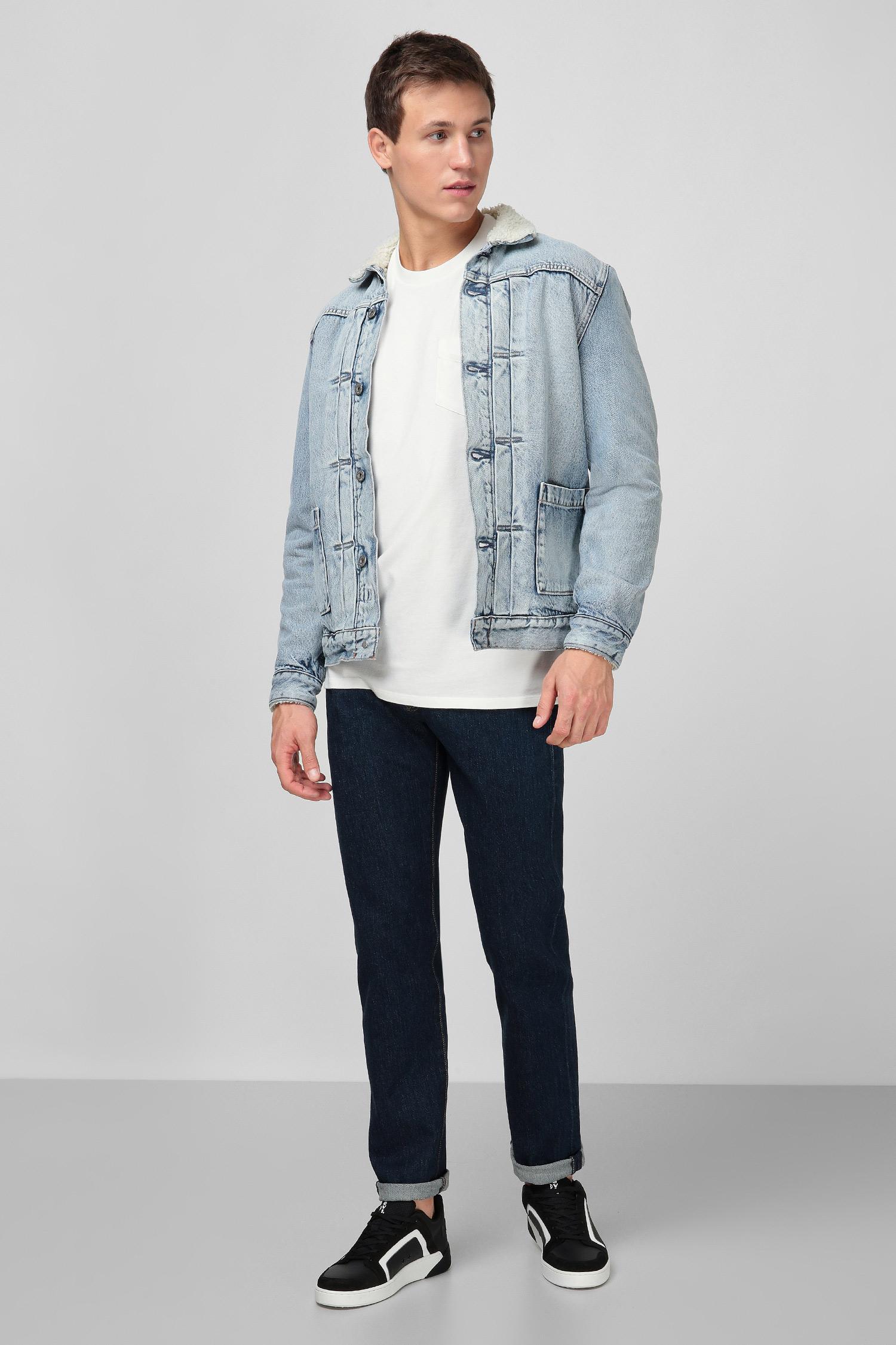 Мужская голубая джинсовая куртка Made & Crafted Levi's 34470;0004