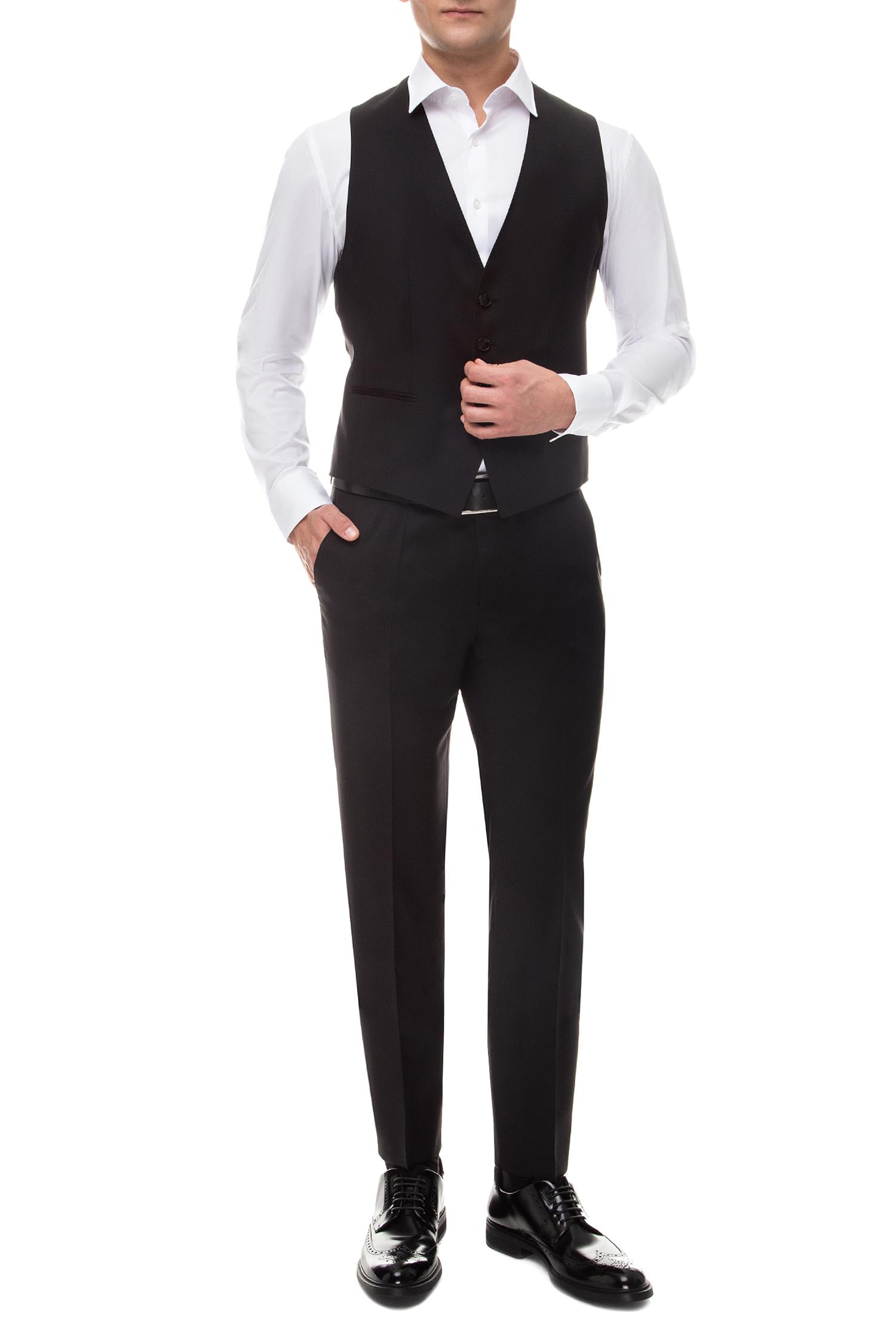 Мужской черный жилет BOSS 50318500;001