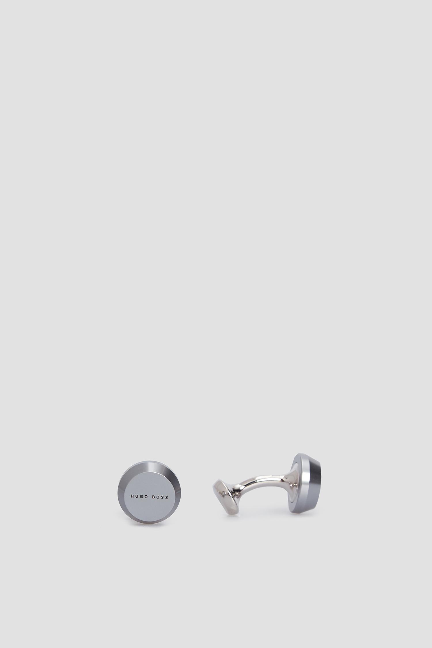 Мужские серебристые запонки BOSS 50447864;021