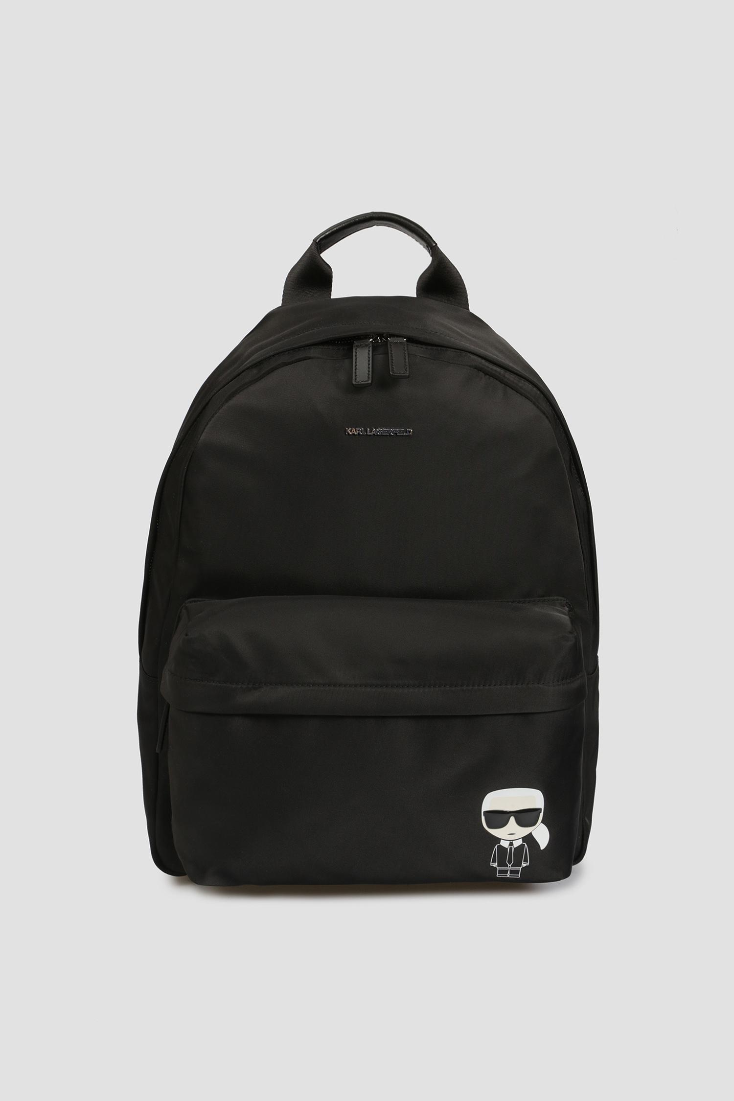 Чоловічий чорний рюкзак Karl Lagerfeld 501199.805912;990