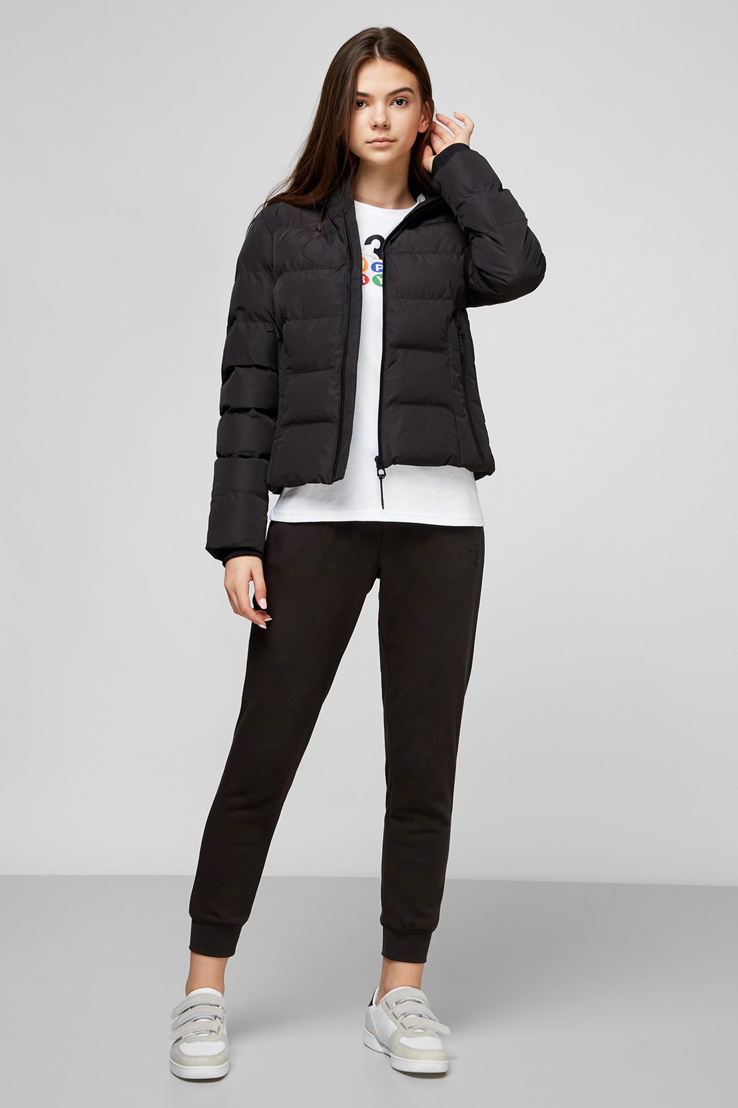 Черная куртка для девушек SuperDry W5010286A;02A
