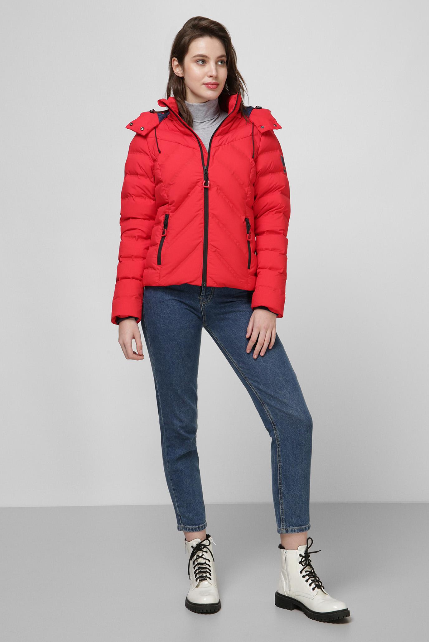 Женская красная куртка SuperDry W5000075A;93J