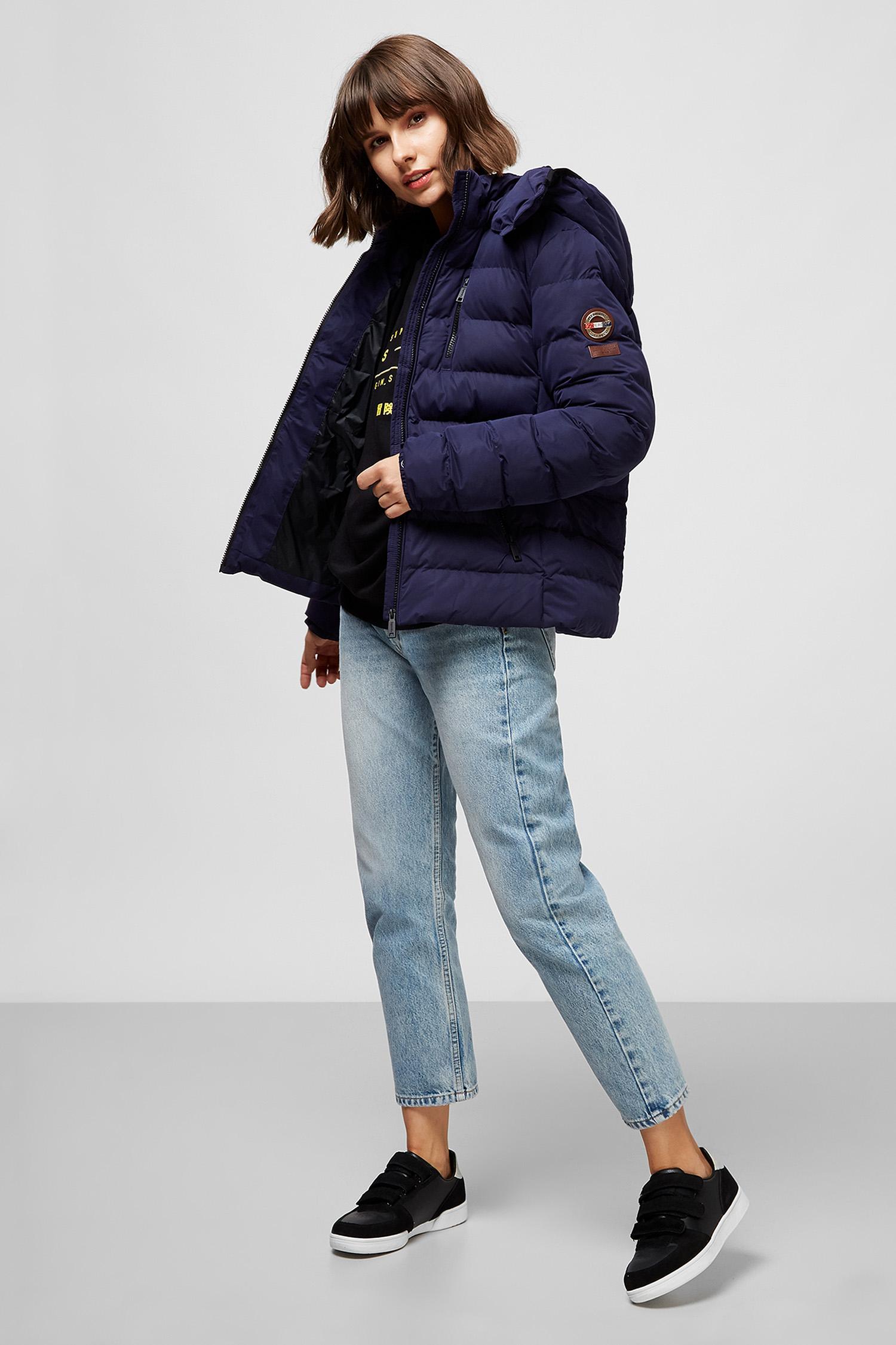 Женская темно-синяя куртка SuperDry W5010210A;GKV