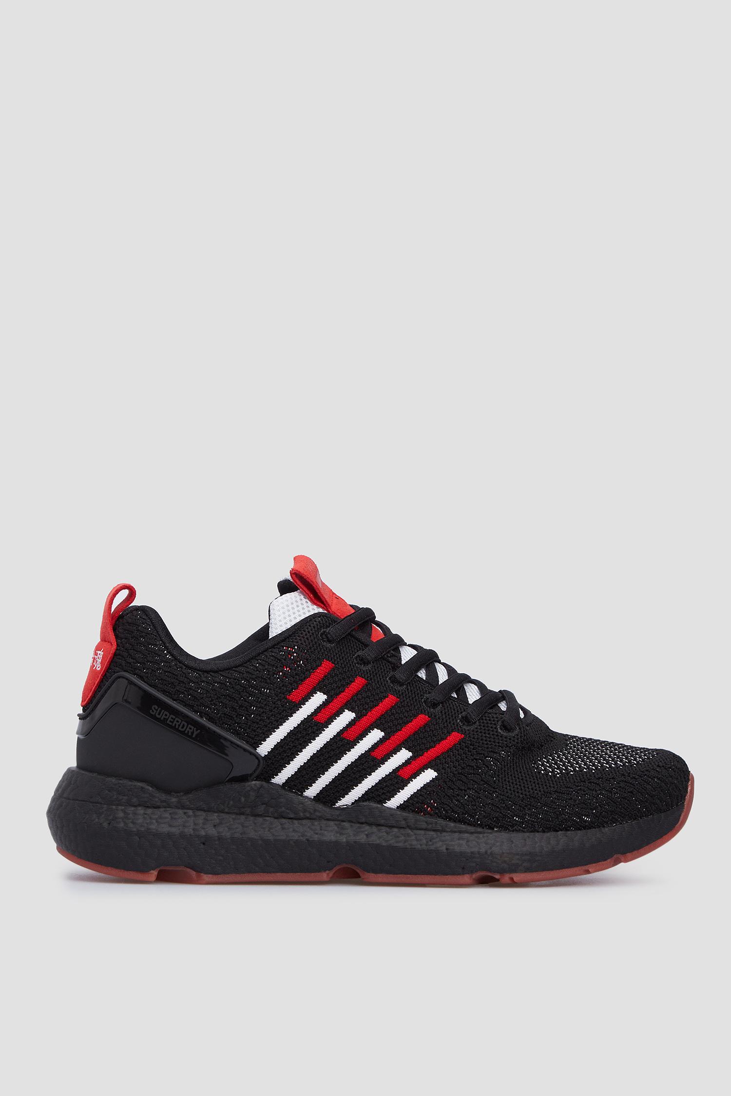 Черные кроссовки для девушек SuperDry WS510015A;02A