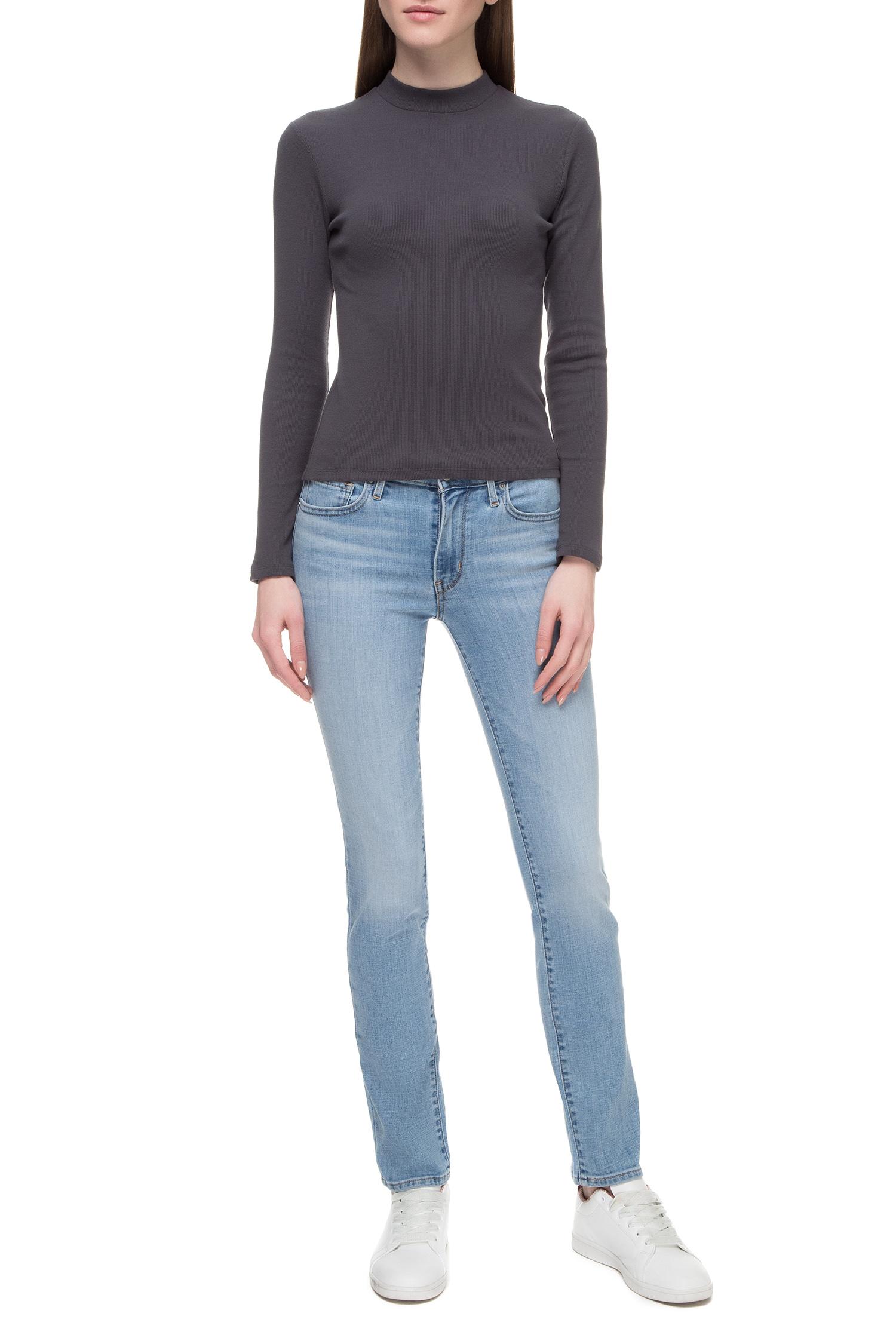Женские голубые джинсы 712 SLIM Levi's 18884;0198