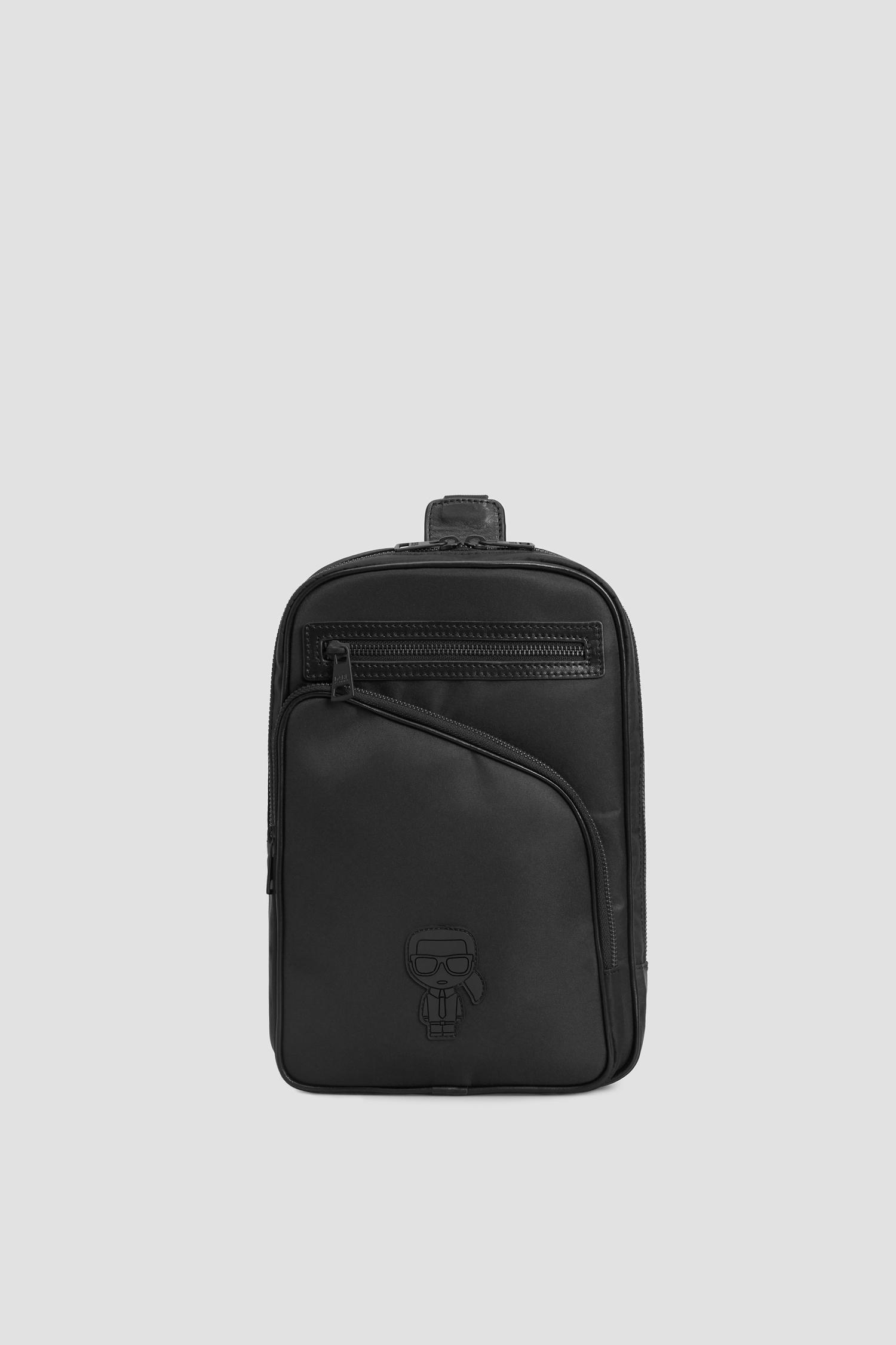 Чоловіча чорна сумка через плече Karl Lagerfeld 502113.805922;990
