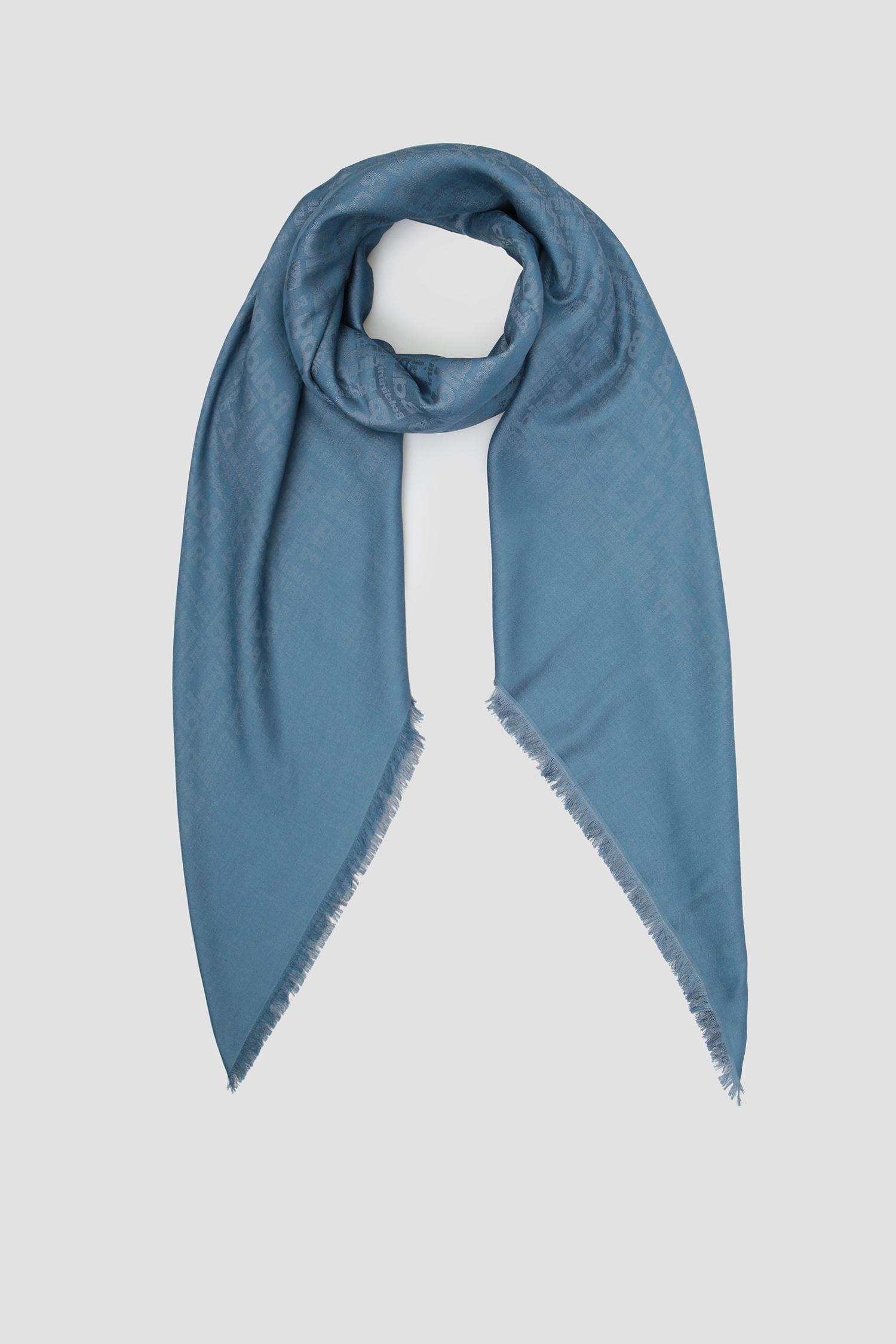 Женский синий платок Baldinini 878602;10