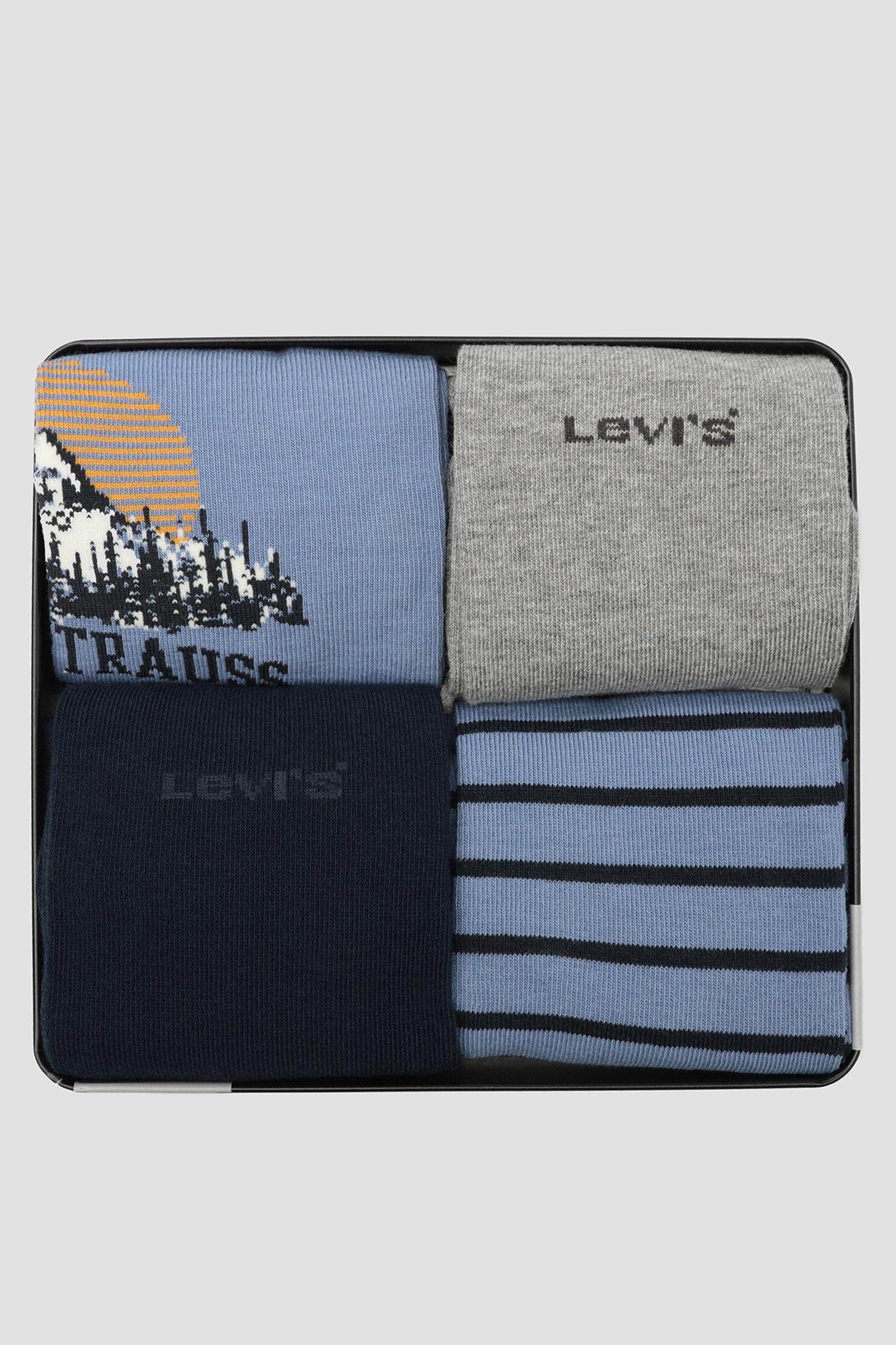 Носки (4 пары) Levi's 100000605;001