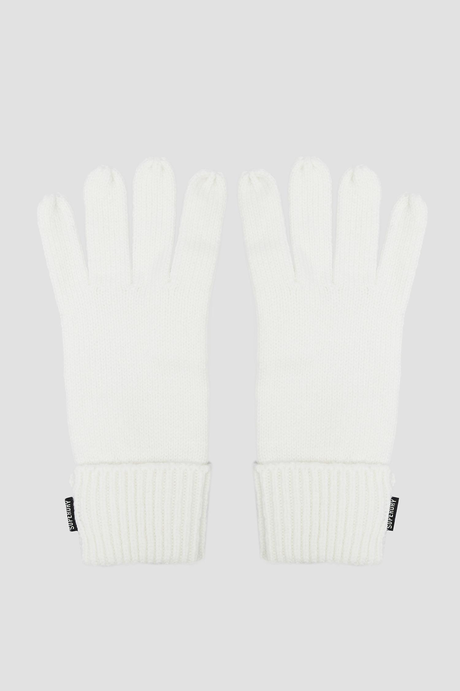 Белые перчатки для девушек SuperDry W9310003A;22C